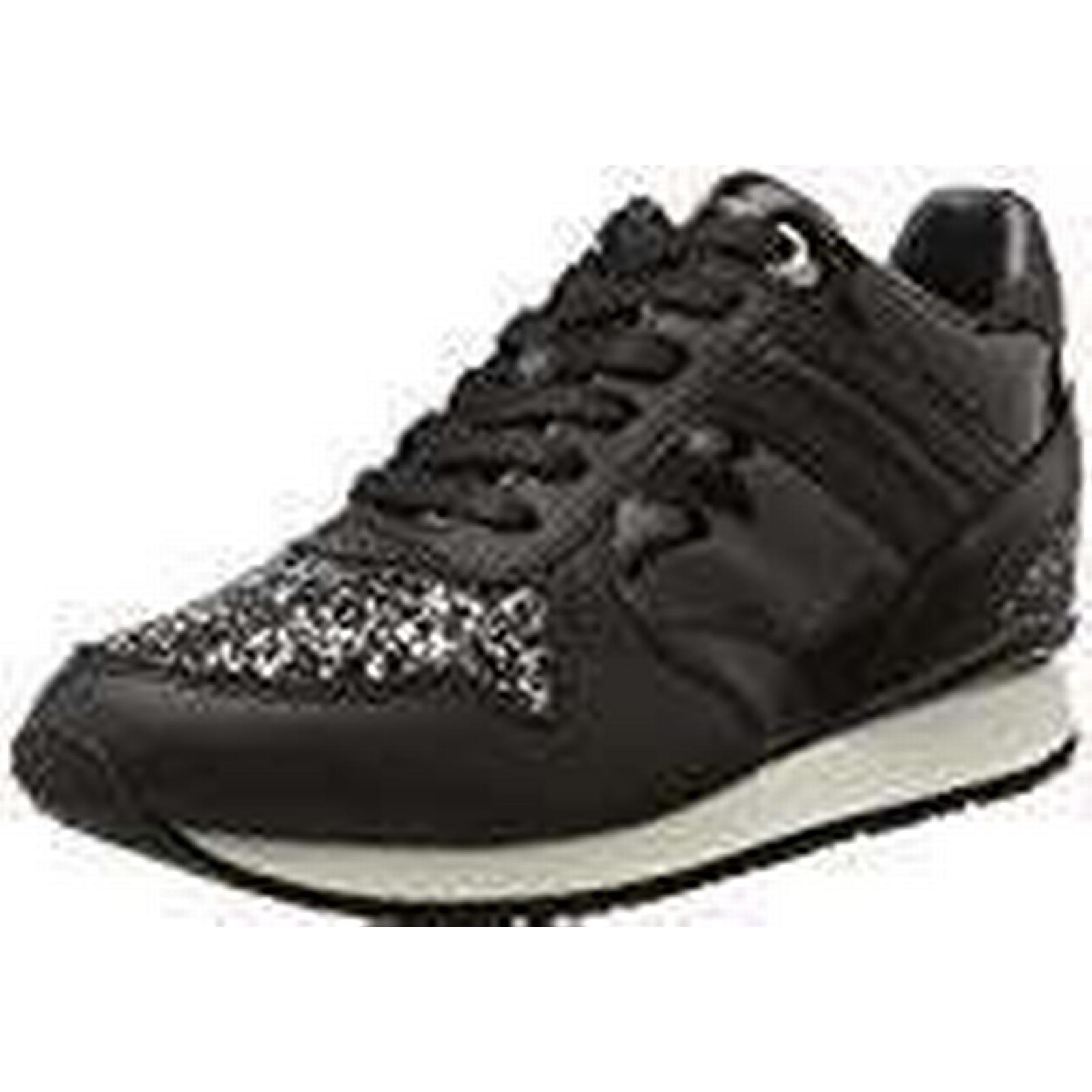 Tommy Hilfiger Women's S1285ady 13c2 UK Low-Top Sneakers, Black, 6.5 UK 13c2 135120