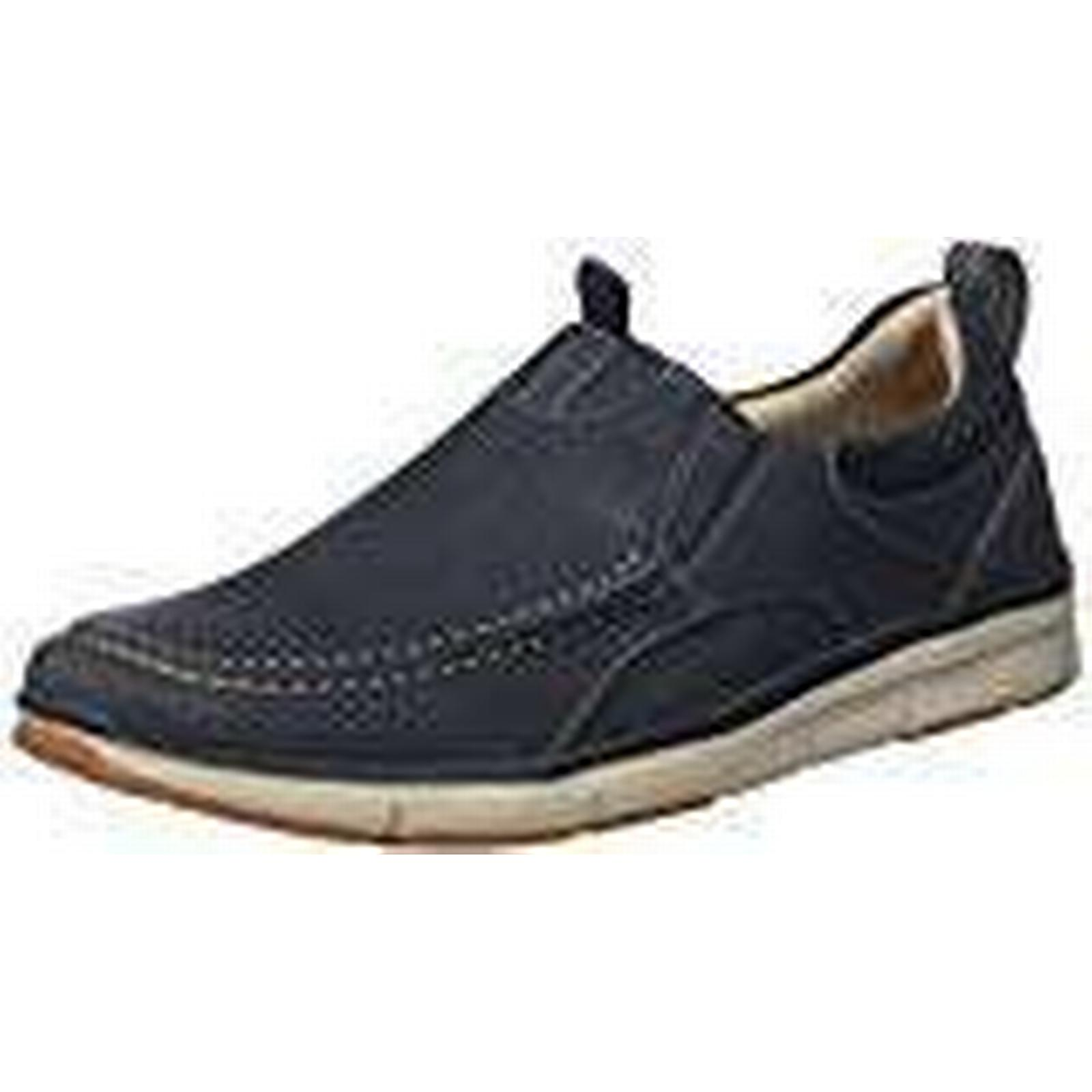 Clarks Men''s Orson Row Loafers, UK Blue (Navy Nubuck-), 13 UK Loafers, d9b202