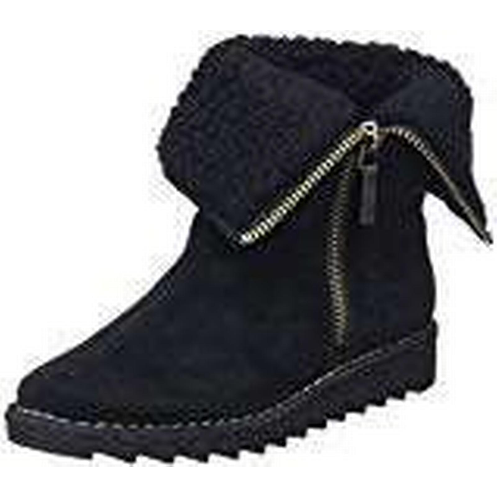 Clarks Women's Olso Beth Ankle UK Boots, (Black Suede), 6 UK Ankle 062873