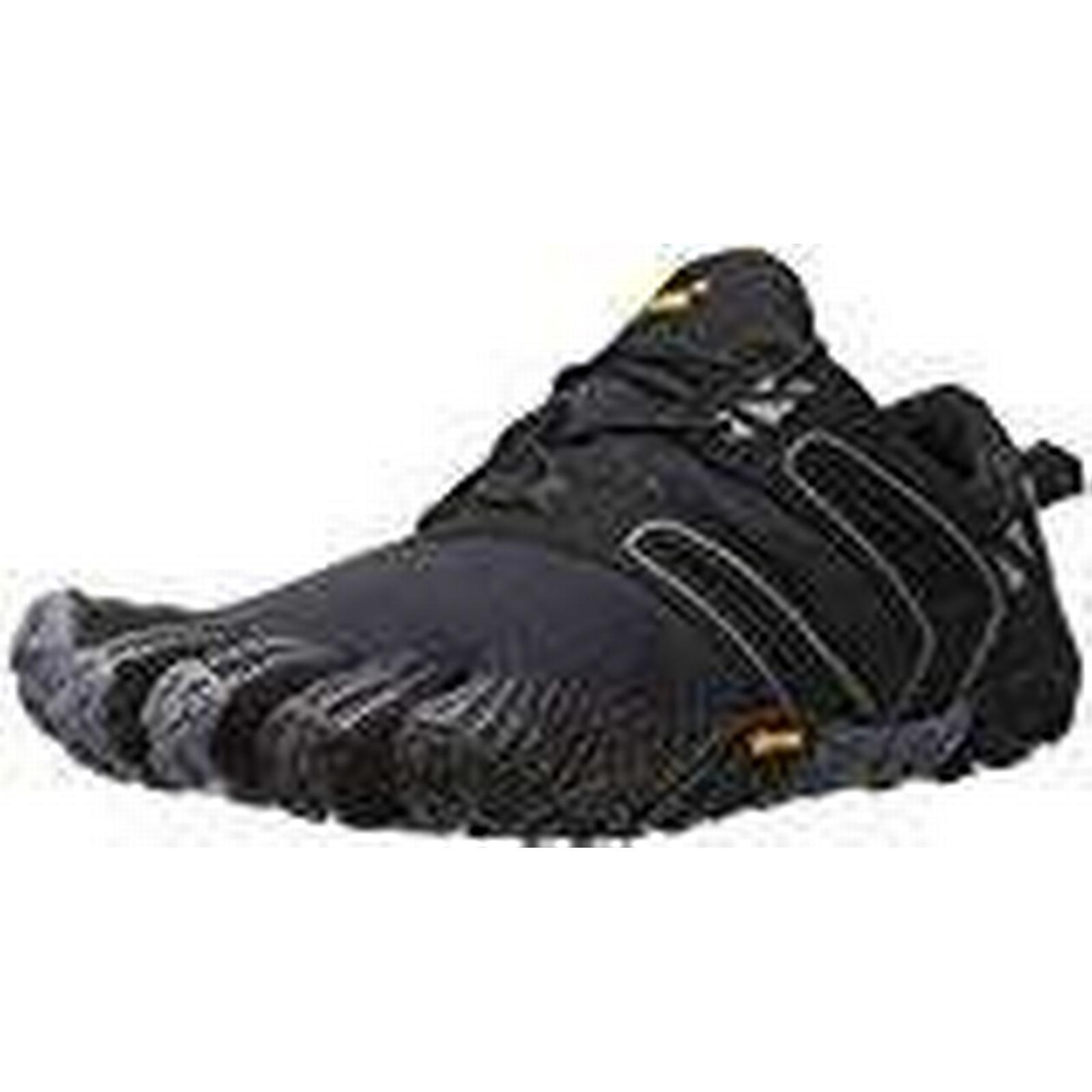 Vibram FiveFingers V-Trail, Women's Trail 9-9.5 Running Shoes, Purple (Black/Grey), 9-9.5 Trail UK (43 EU) b14644