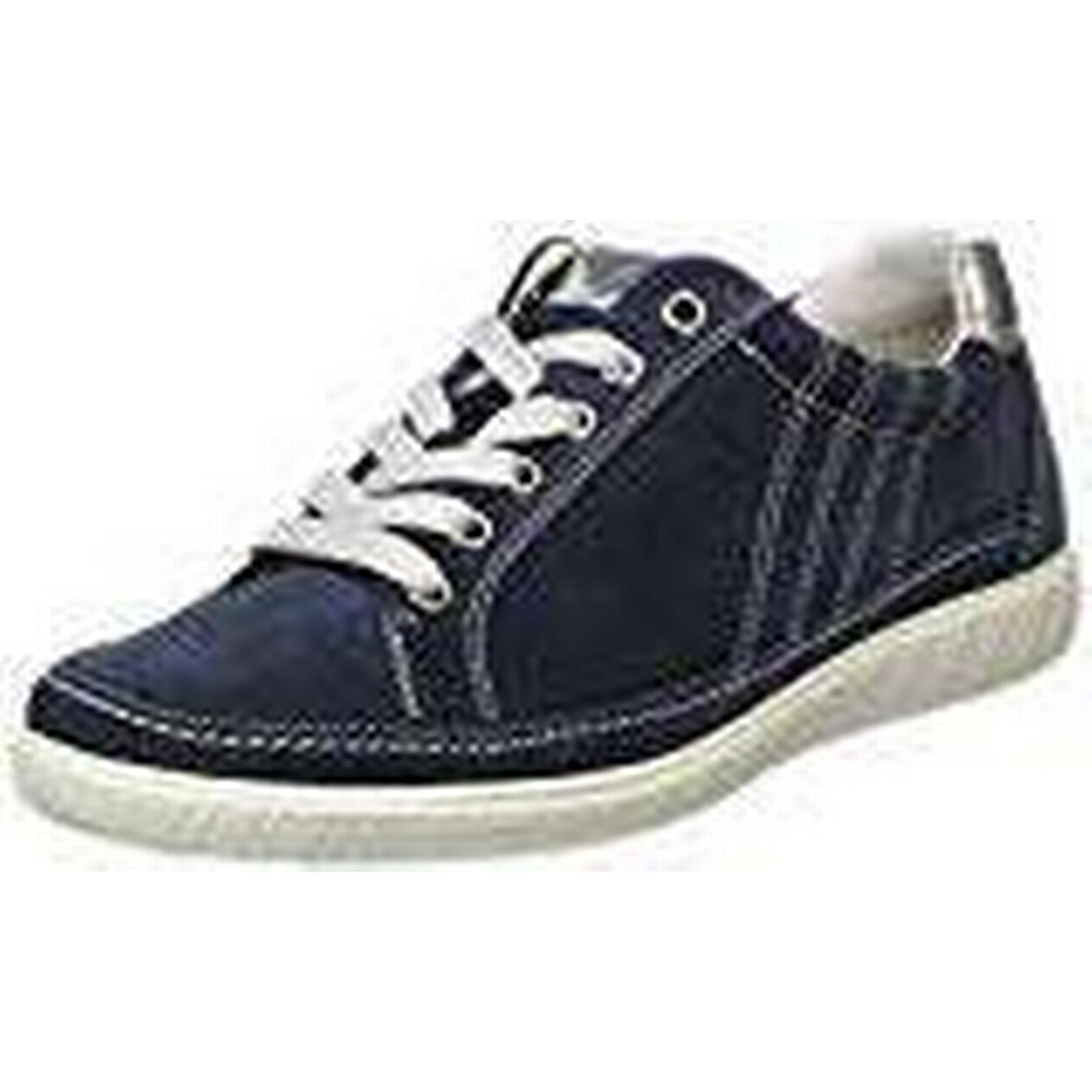 Gabor Shoes Women's Comfort Basic UK Derbys, Blue (Ocean/Argento), 7 UK Basic (40.5 EU) 72d933