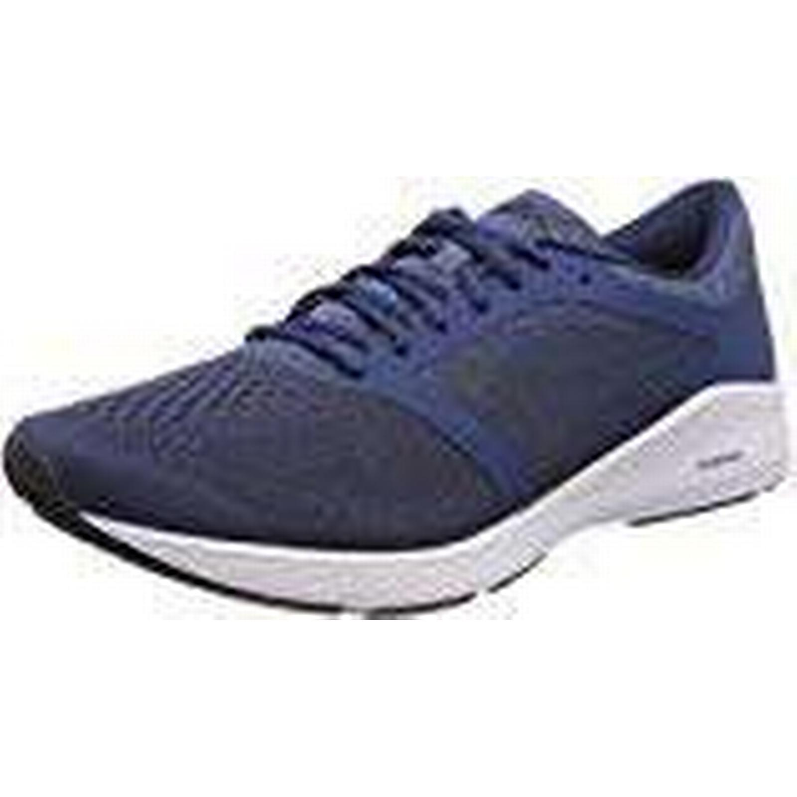 Asics Men's Roadhawk FF Running Shoes, Multicolour (Dark 9.5 Blue/Black/White 4990), 9.5 UK 9.5 (Dark UK 88f4ae
