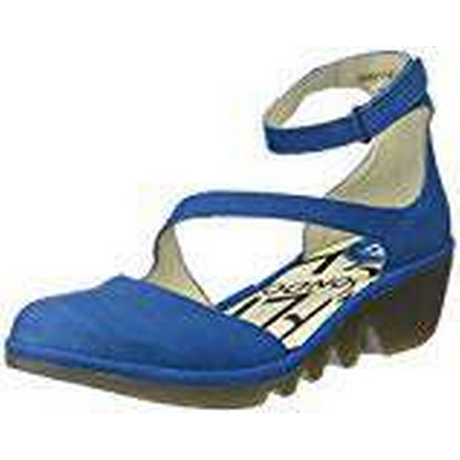 Fly London Women's Plan717Fly Ankle 4 Strap Heels, (Electric Blue), 4 Ankle UK 37 EU 0d9e41