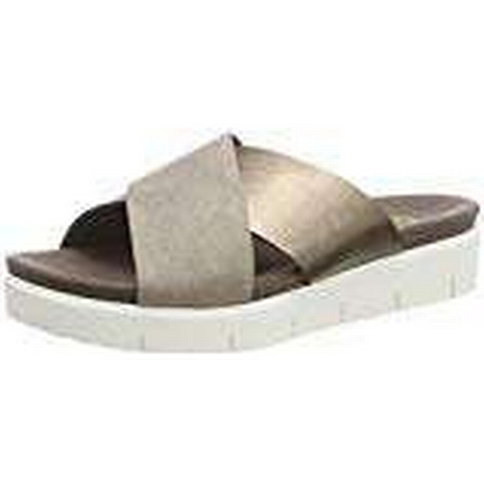 Gabor Women's Comfort Sport-82.7 Ankle Silber), Strap Sandals, Brown (Koala/a Silber), Ankle 8 UK 740251