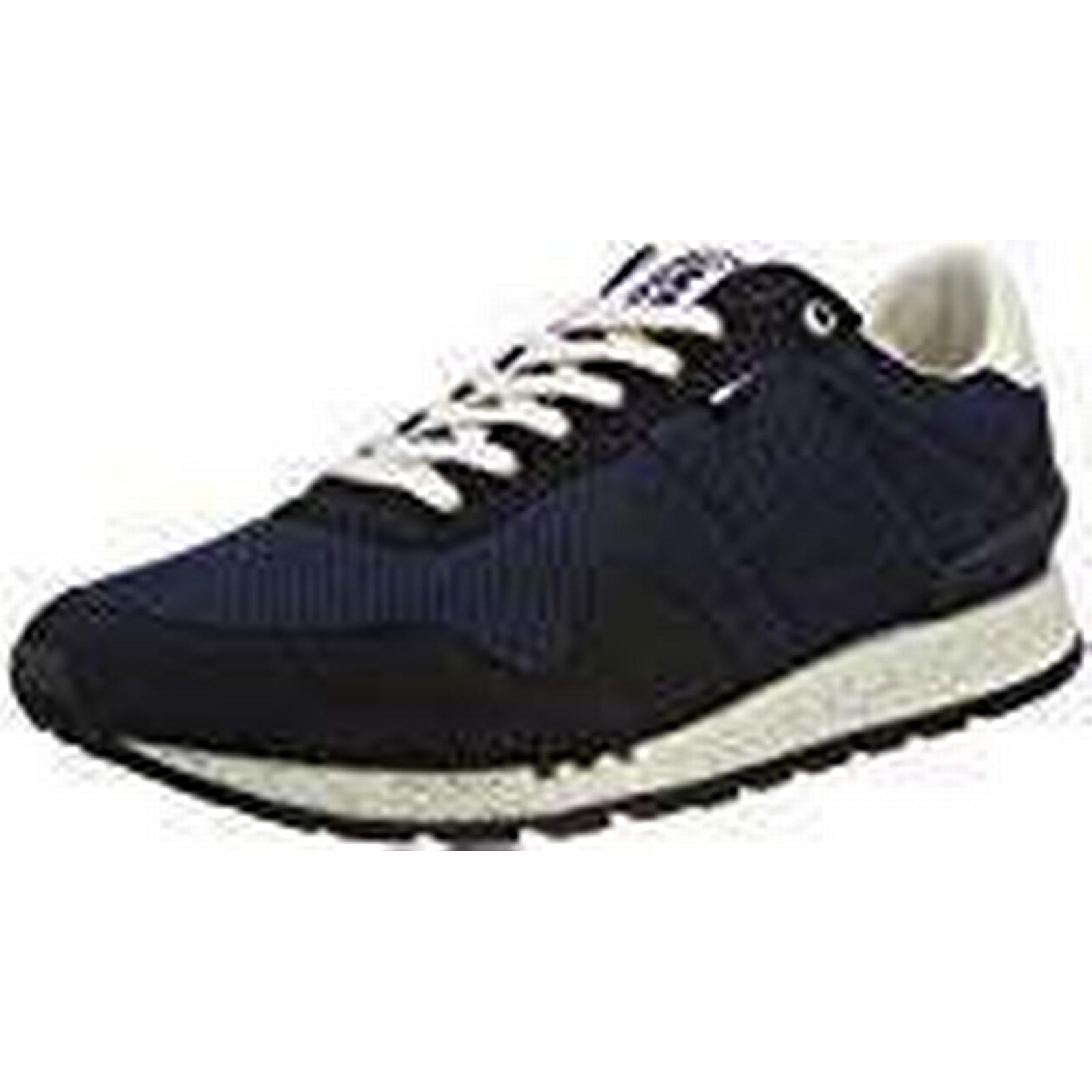 Tommy Jeans Hilfiger Denim Men's Lifestyle Low-Top Sneakers, UK Blue (Ink 006), 10 UK Sneakers, 845a2b