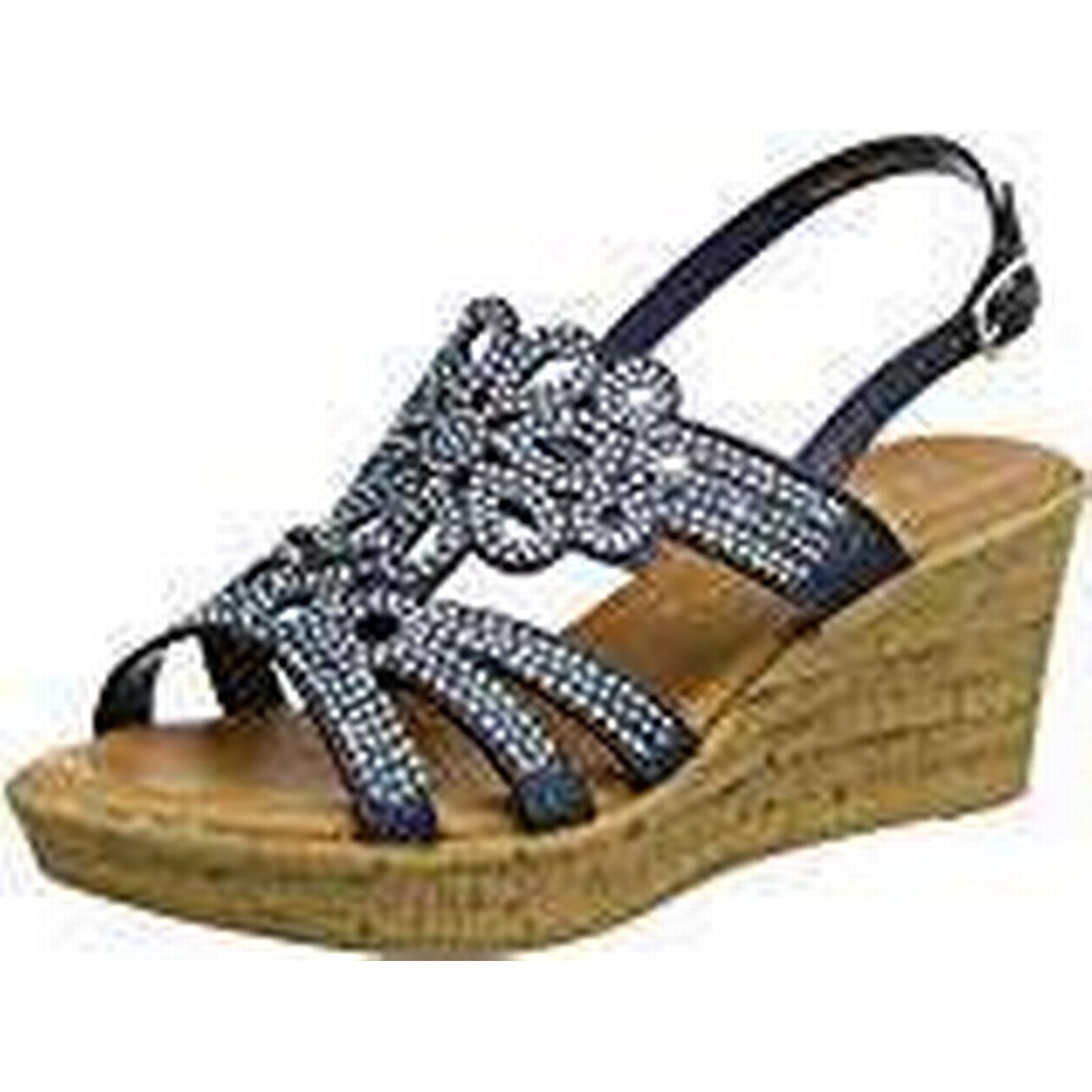 Lotus Women's Ludisa Sling Back 6 Sandals, Blue (Navy Glitz), 6 Back UK 40 EU a42fcc