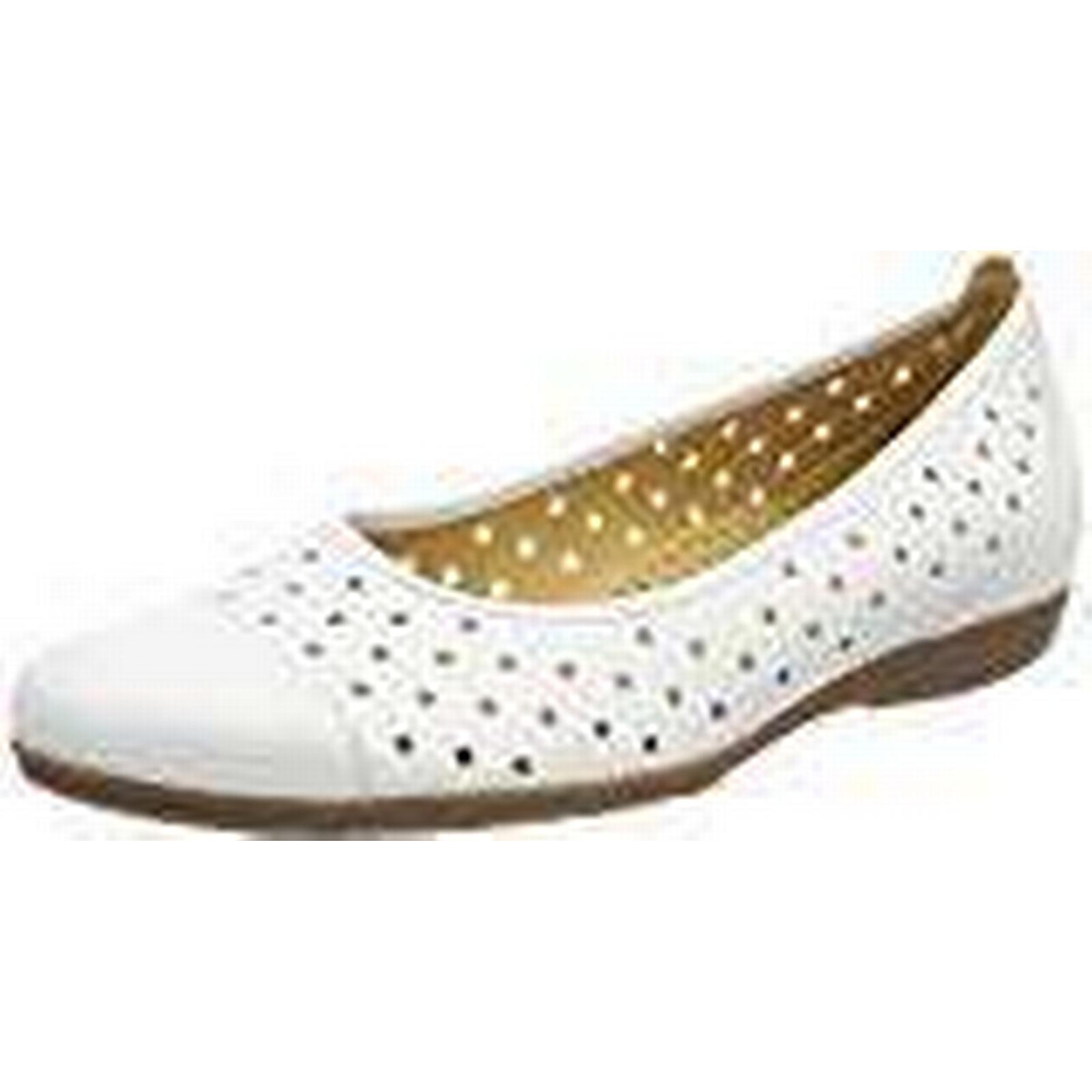 Gabor Women UK Casual Ballet Flats,White (Weiss),7 UK Women (40.5 EU) 68e366