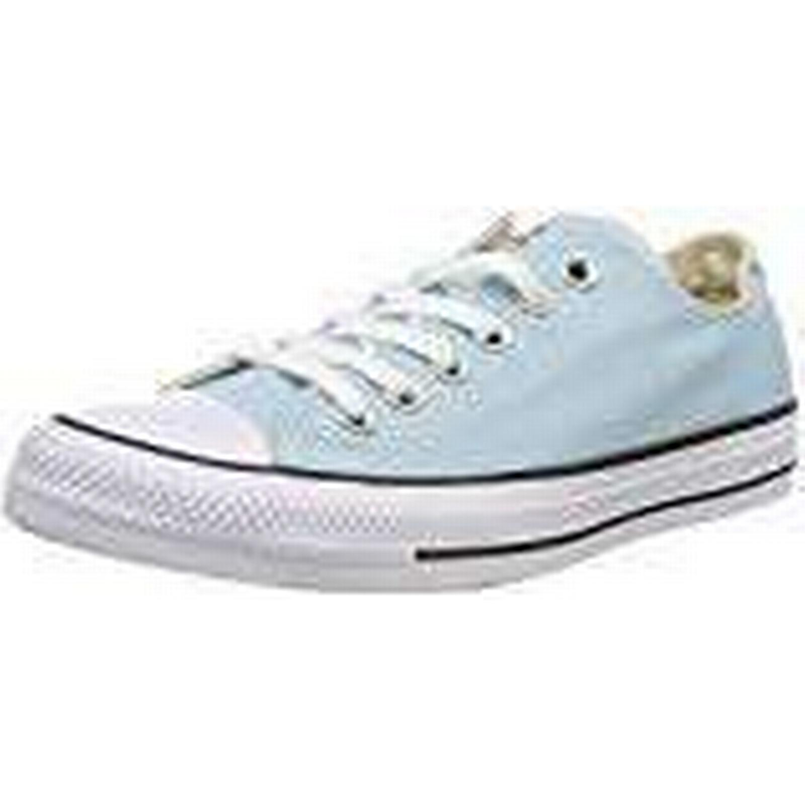 Converse 456), Unisex Adults' CTAS OX Trainers, Blue (Ocean Bliss 456), Converse 4 UK 4 UK de1191
