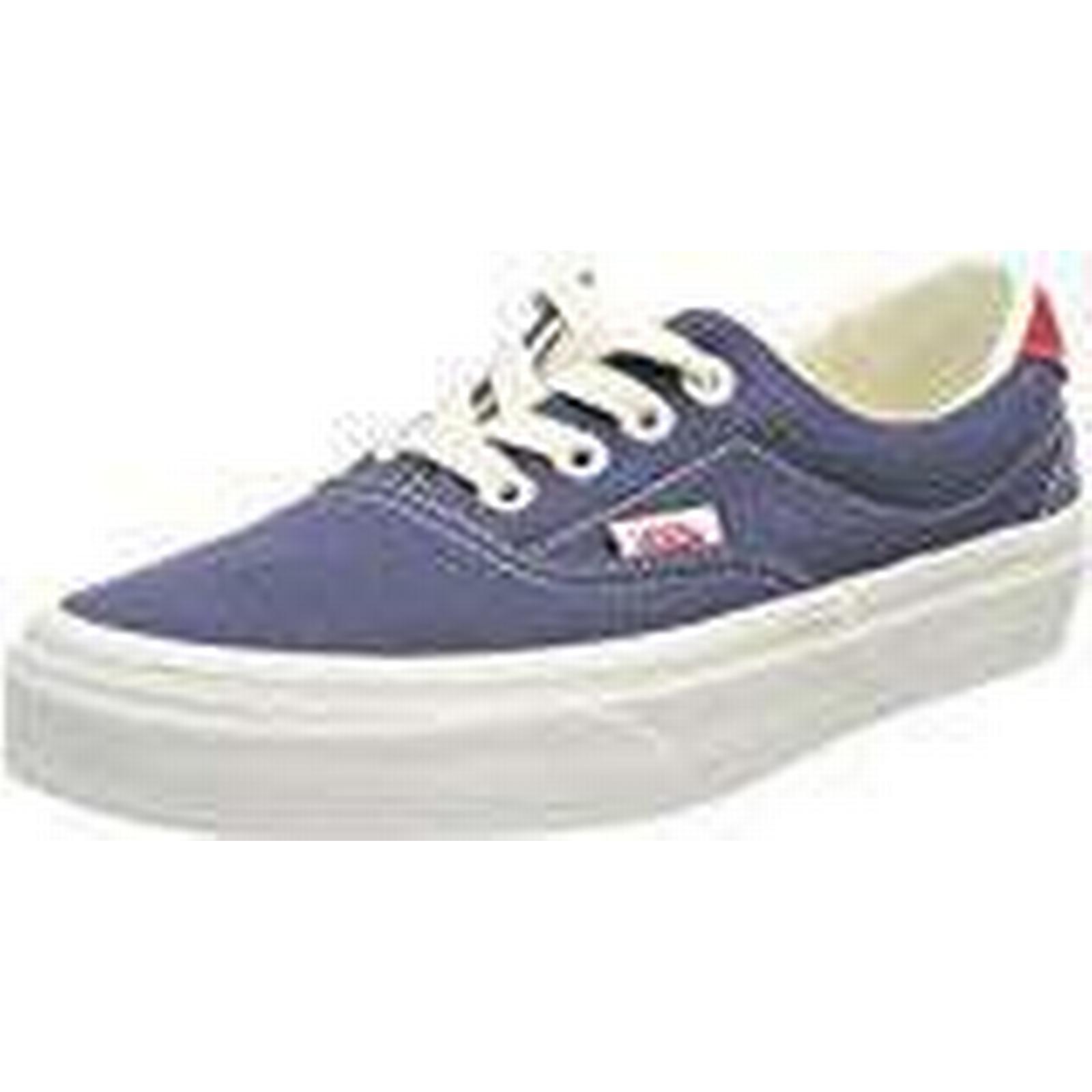 Vans Unisex Adults' (Vintage Era 59 Trainers, Blue (Vintage Adults' Indigo/Rococco Red Qkj), 3 UK 35 EU e4a2b7