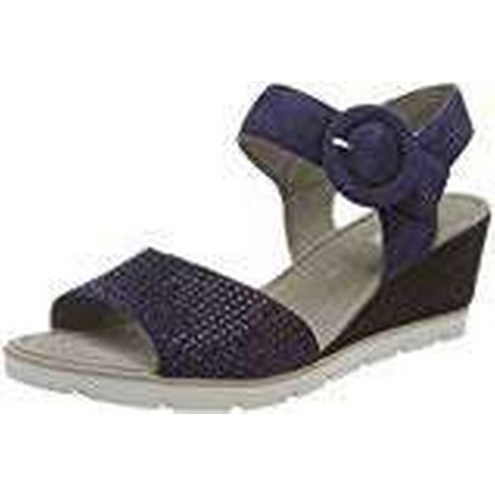 Gabor Shoes Women''s Basic Ankle 6 Strap Sandals, Blue (Bluette), 6 Ankle UK 7bd2a1