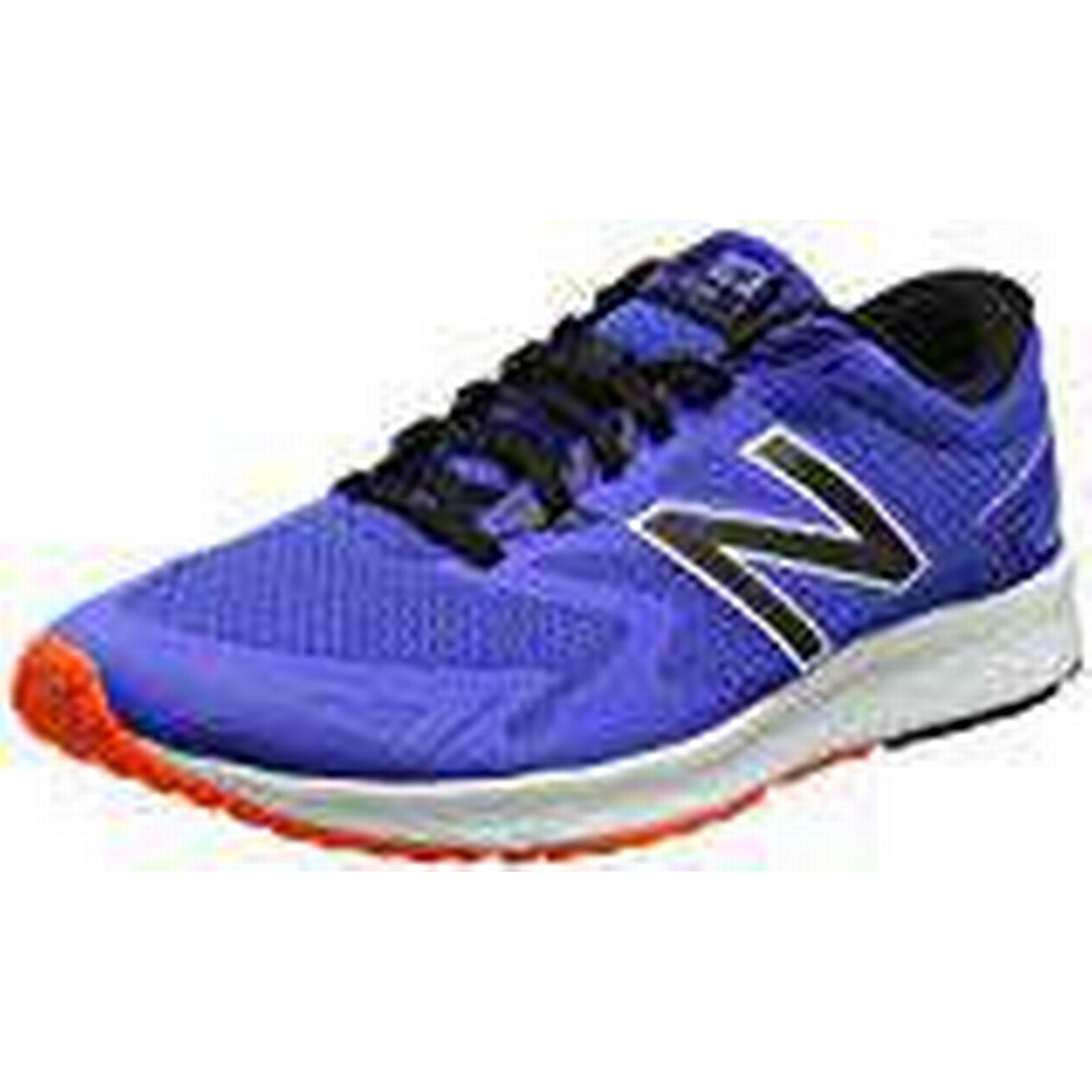 New Balance Men's Flash 8 v2 Running Shoes, (Blue/Black), 8 Flash UK 42 EU 284a6c
