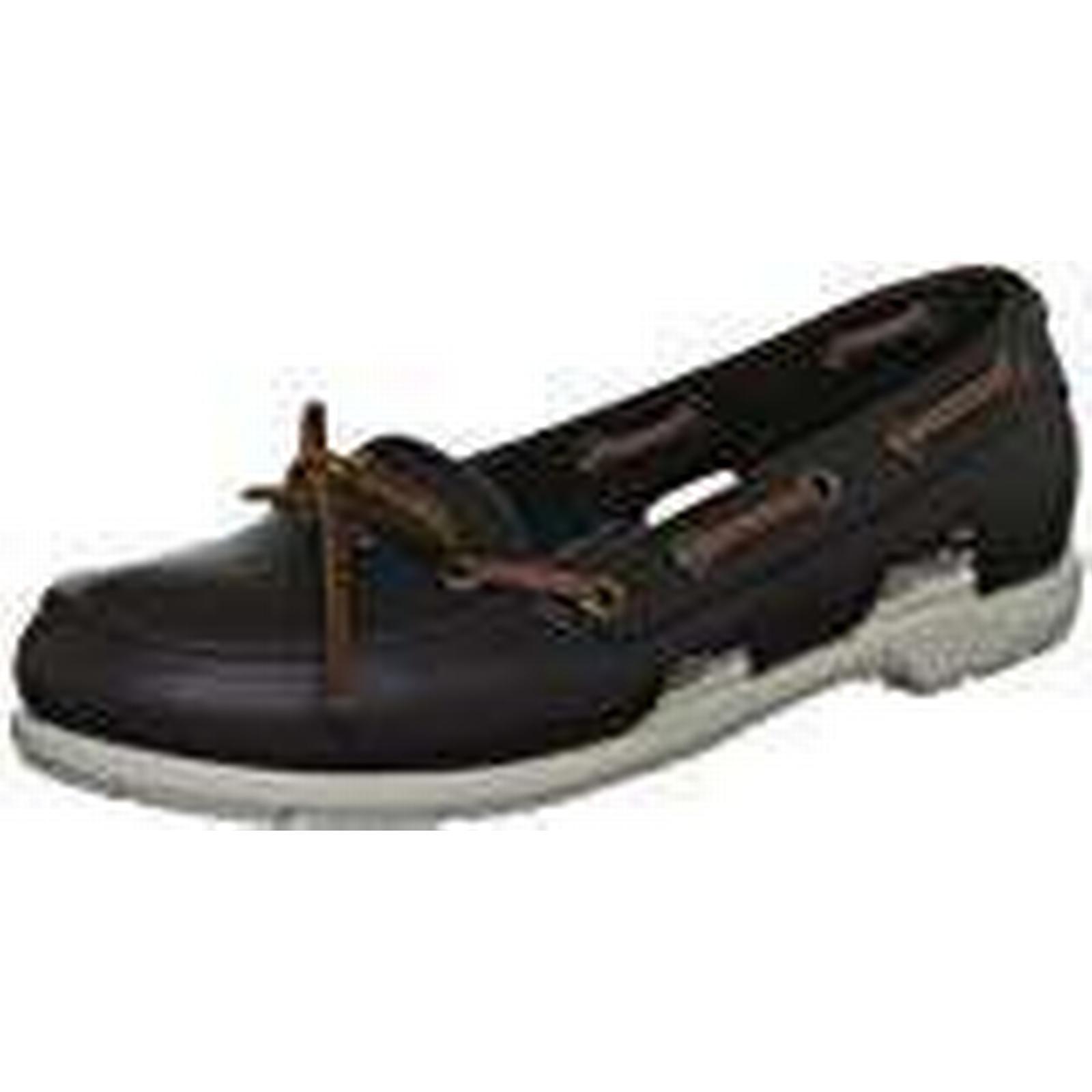 Crocs Women's Beach Line Boat Brown Shoe Women Boat Shoes, Brown Boat (Espresso/Stucco), 3 UK (5 US) f10583