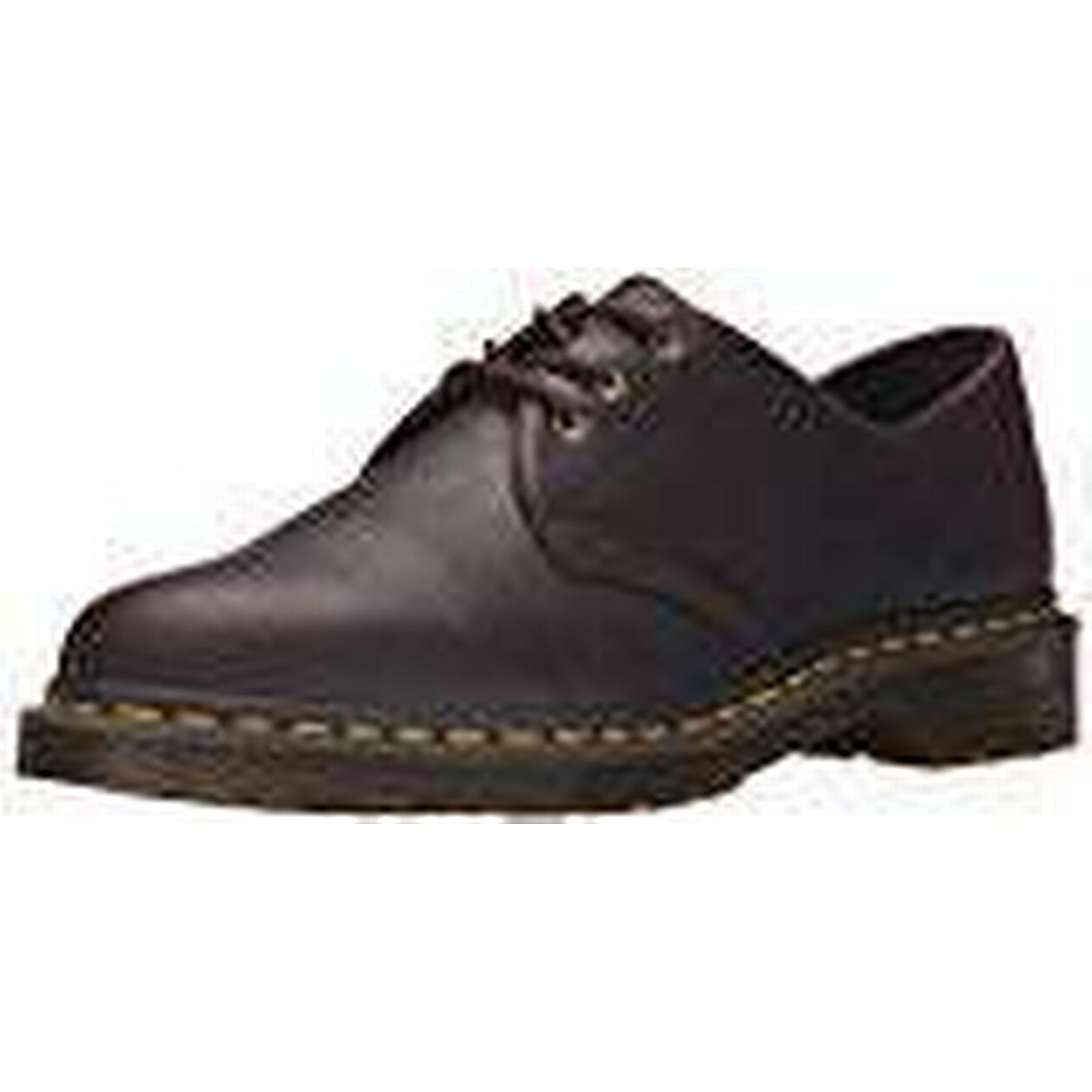 Dr. Martens Unisex UK Adults' 1461 Derbys, Brown (Black), 6 UK Unisex 39 EU 7ca010