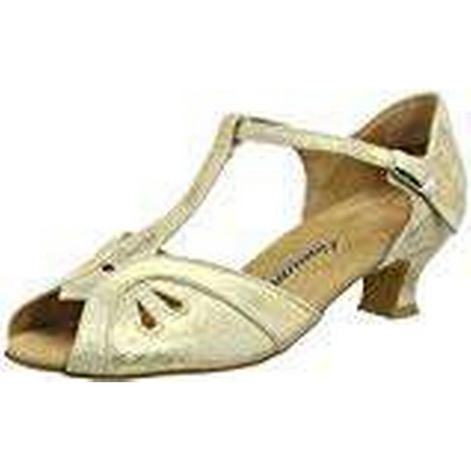 Diamant Damen Tanzschuhe 019-011-017, Women's Ballroom Dance Shoes, Gold (Gold 1/3 Magic), 4.5 UK (37 1/3 (Gold EU) e2e491