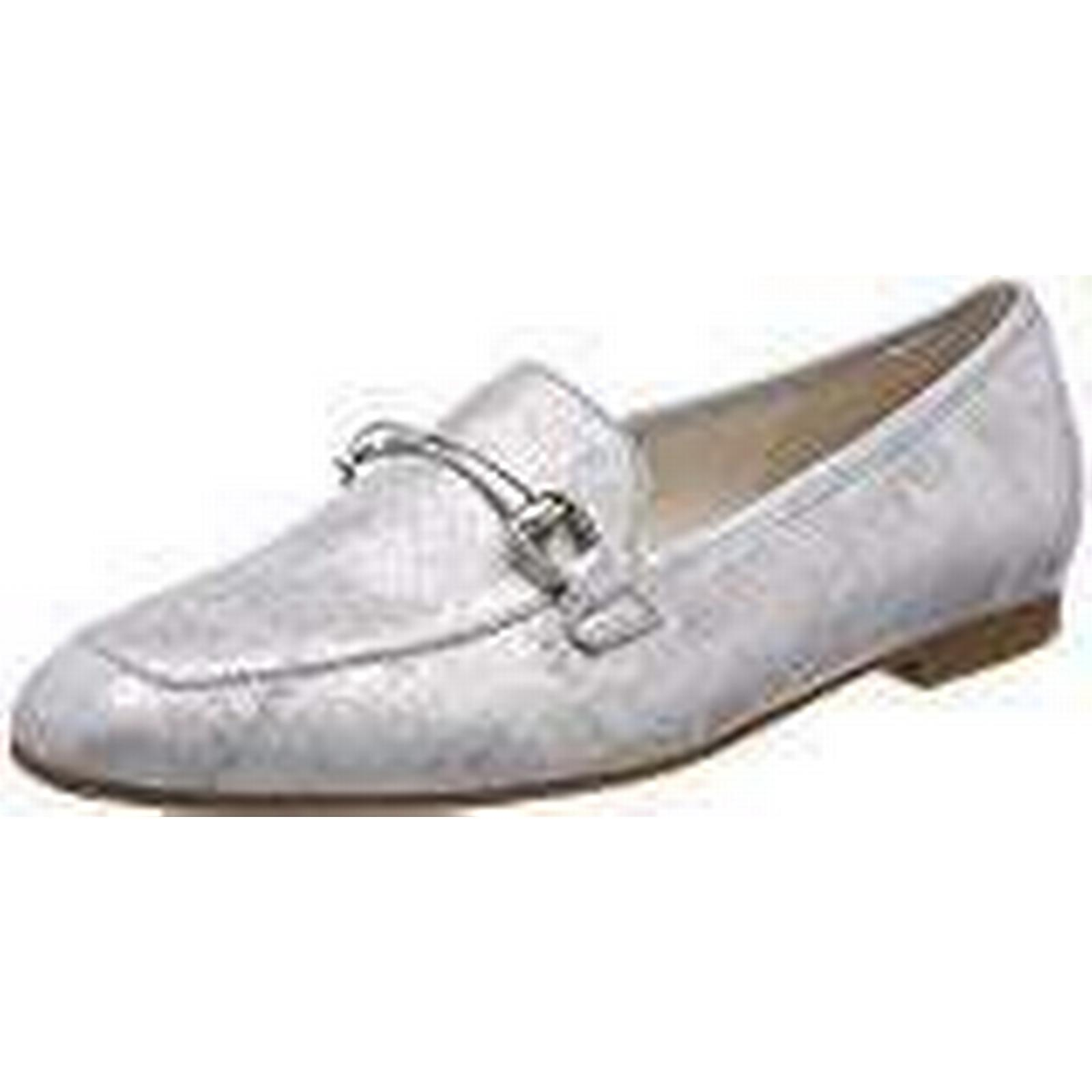 Gabor Shoes (Ice), Women's Casual Loafers, White (Ice), Shoes 7 UK (40.5 EU) ea0d56