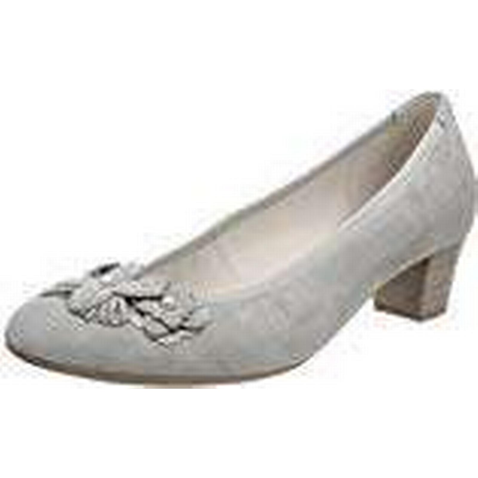 Gabor Shoes Grey Women's Basic Closed-Toe Pumps, Grey Shoes (Stone), 6.5 UK 81a156