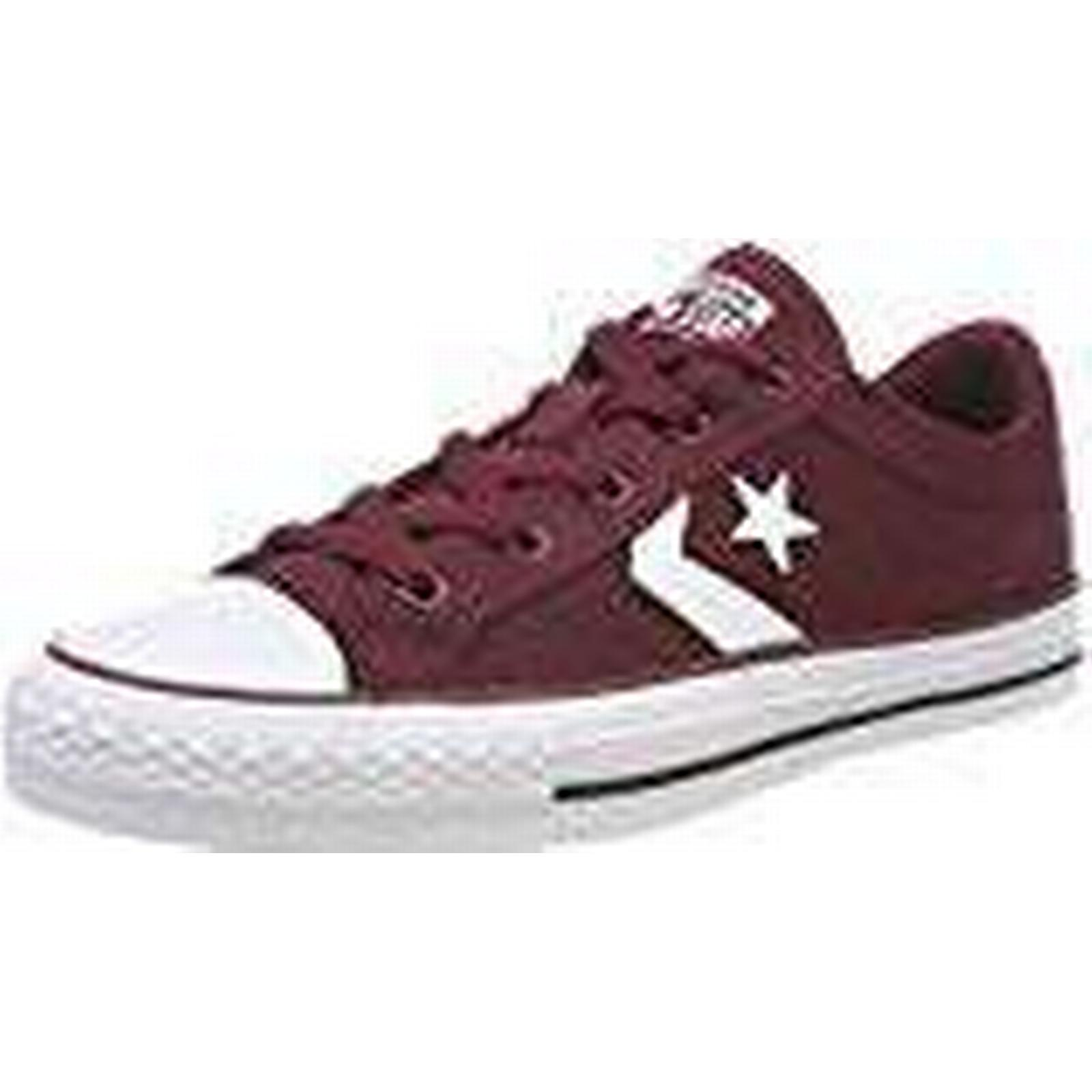 Converse Unisex Adults' Star Player OX 628, Dark Burgundy/White Trainers, Red 628, OX 7 UK 7 UK 45e67e