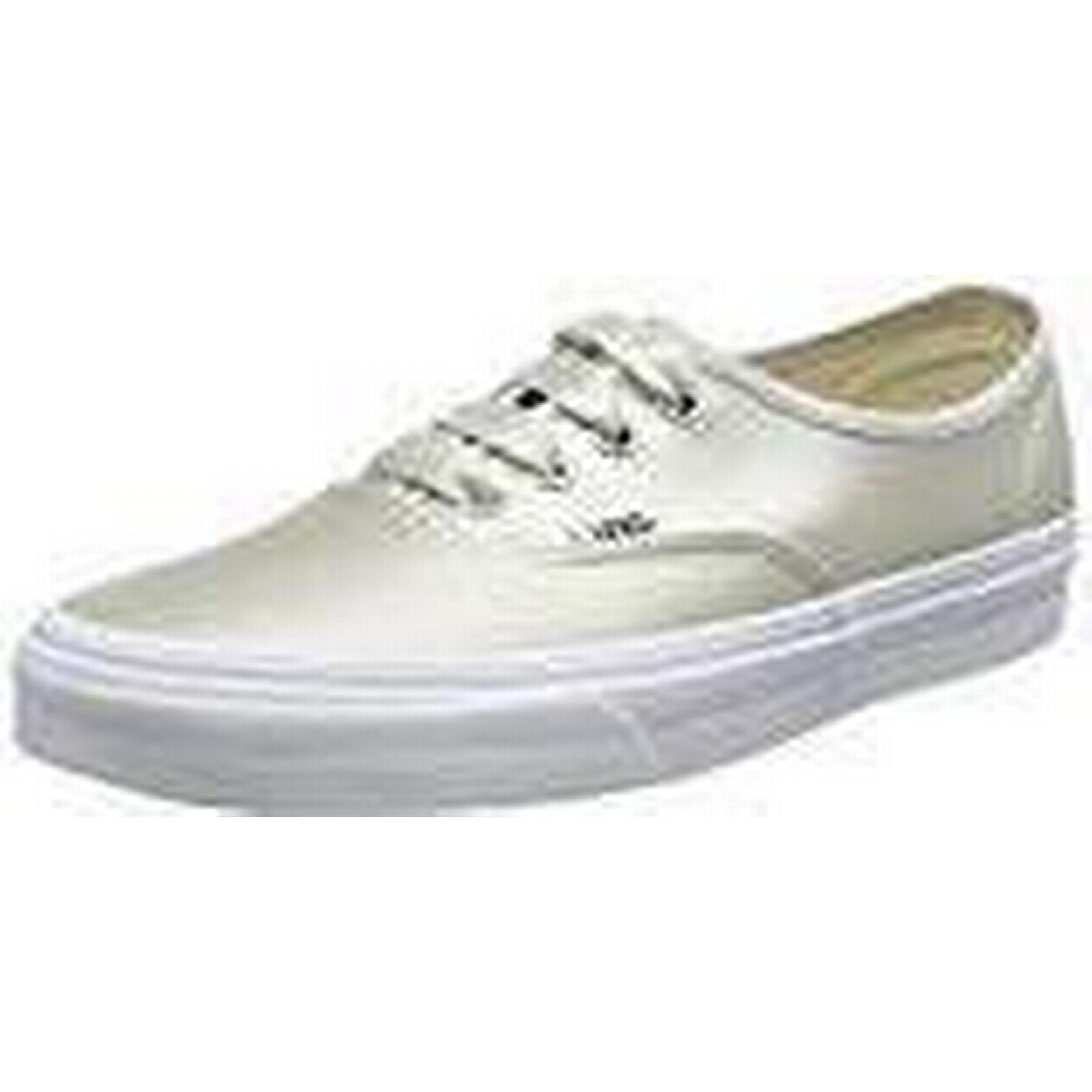 Vans Women's Authentic Trainers, Beige (Satin Lux) 3.5 Light Silver/True White Q9j, 3.5 Lux) UK 36 EU b28a44