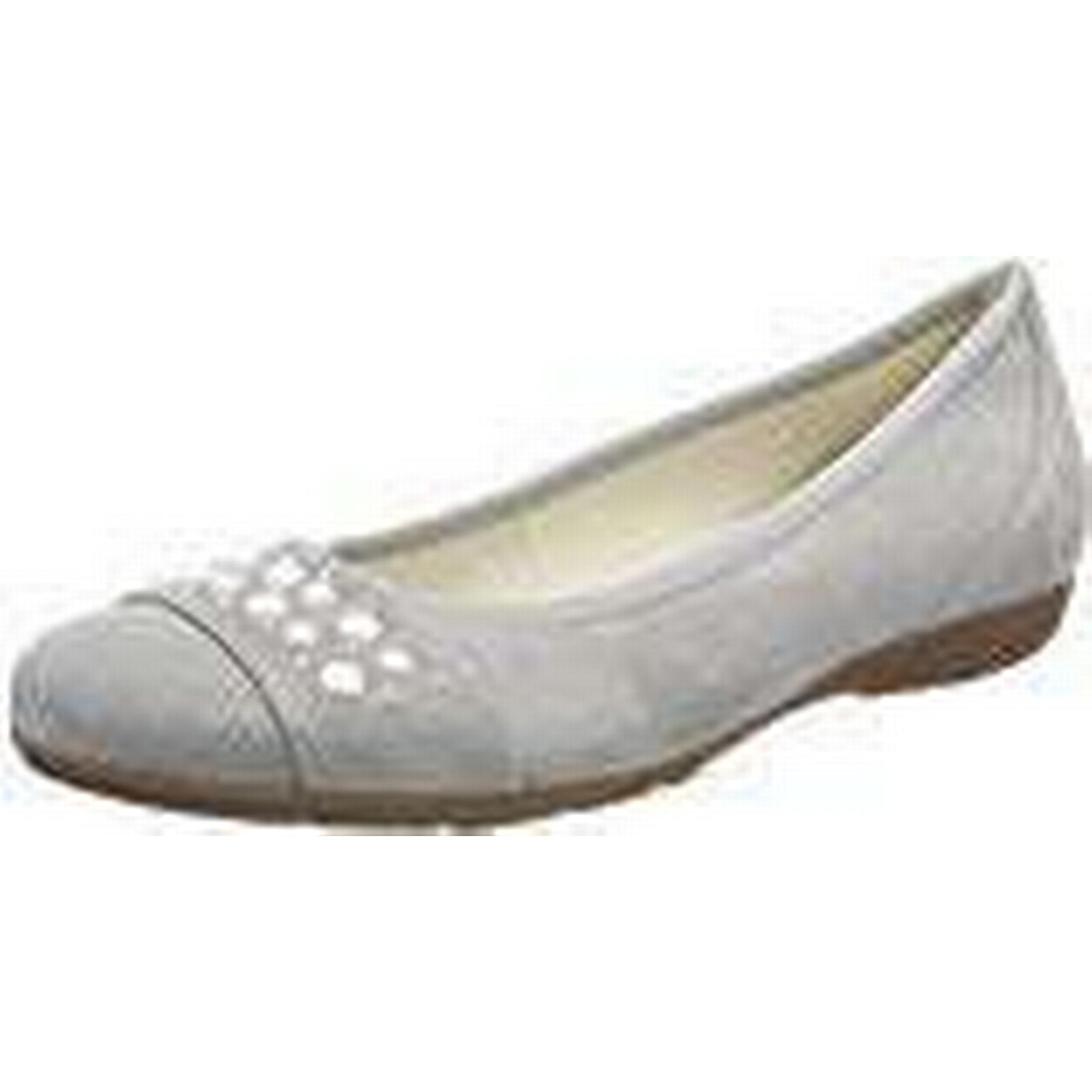 Gabor Women 3.5 Casual Ballet Flats, Grey (Stone), 3.5 Women UK (36 EU) 4c3404
