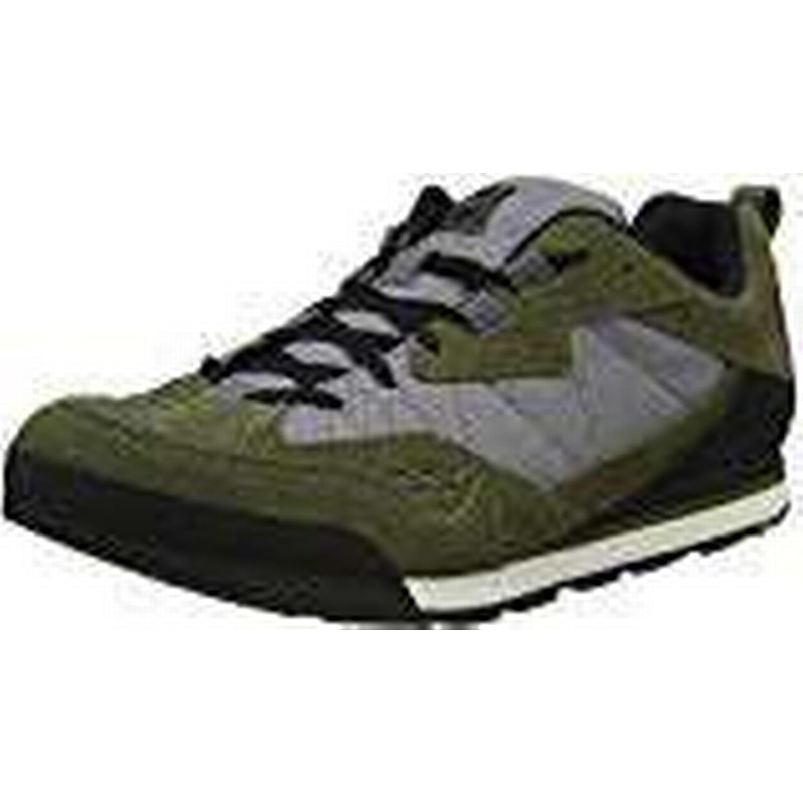 Merrell Men's Burnt Rock Green Tura Denim Low Trainers, Green Rock Dusty Olive/Gry, 11.5 (46.5 EU) d09940