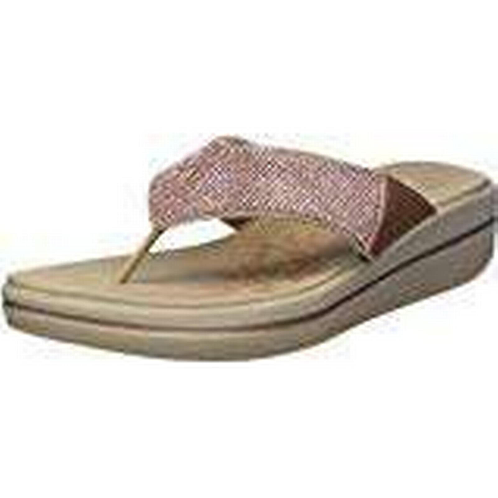 Skechers Women's 41055 Platform Sandals, 41 (Rose Gold), 8 UK 41 Sandals, EU 913403