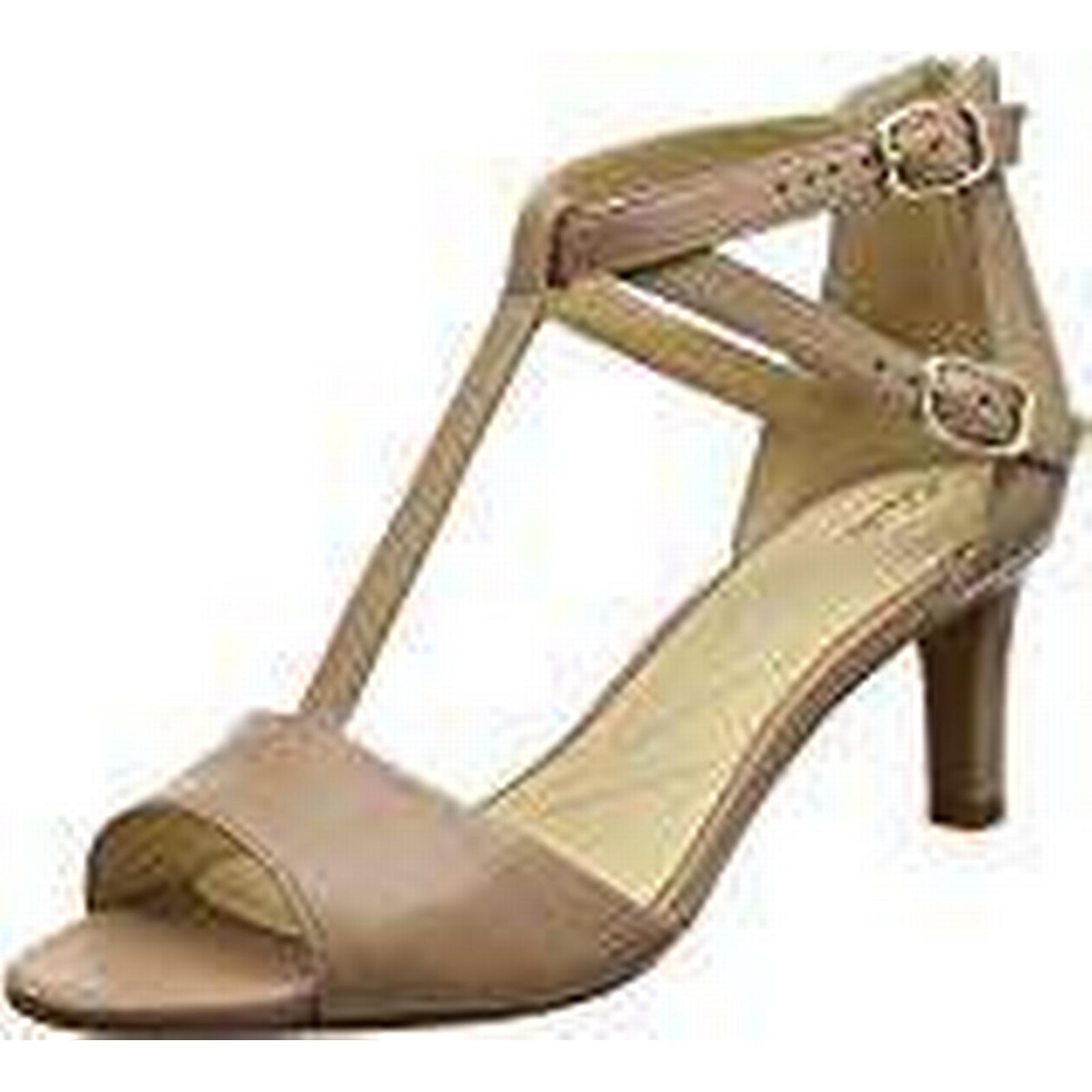 Clarks Women''s Laureti Pearl Ankle 6.5 Strap Sandals, (Beige Leather), 6.5 Ankle UK 473334
