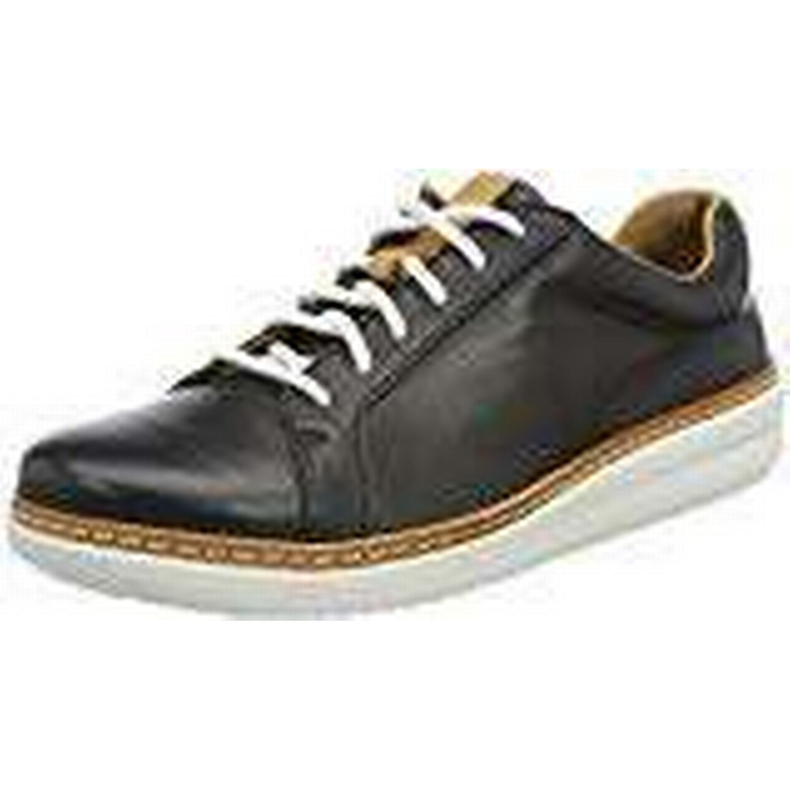 Clarks Women''s Amberlee Leather), Rosa Low-Top Sneakers, (Black Leather), Amberlee 6 UK 1b0346