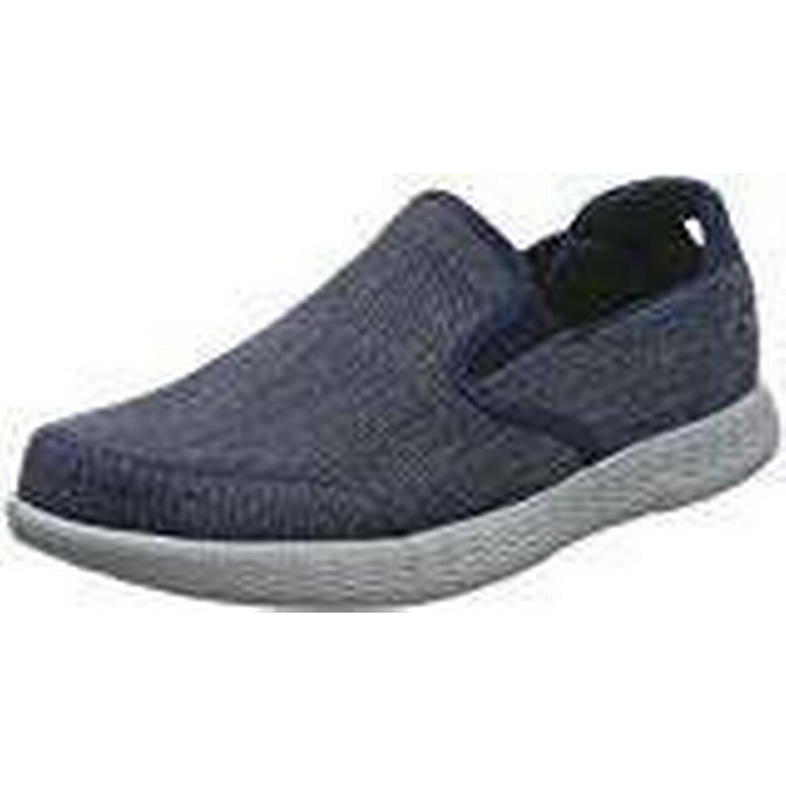 Skechers Men's 53781 UK Slip On Trainers, Blue (Navy/Grey), 9 UK 53781 43.5 EU ae4c92