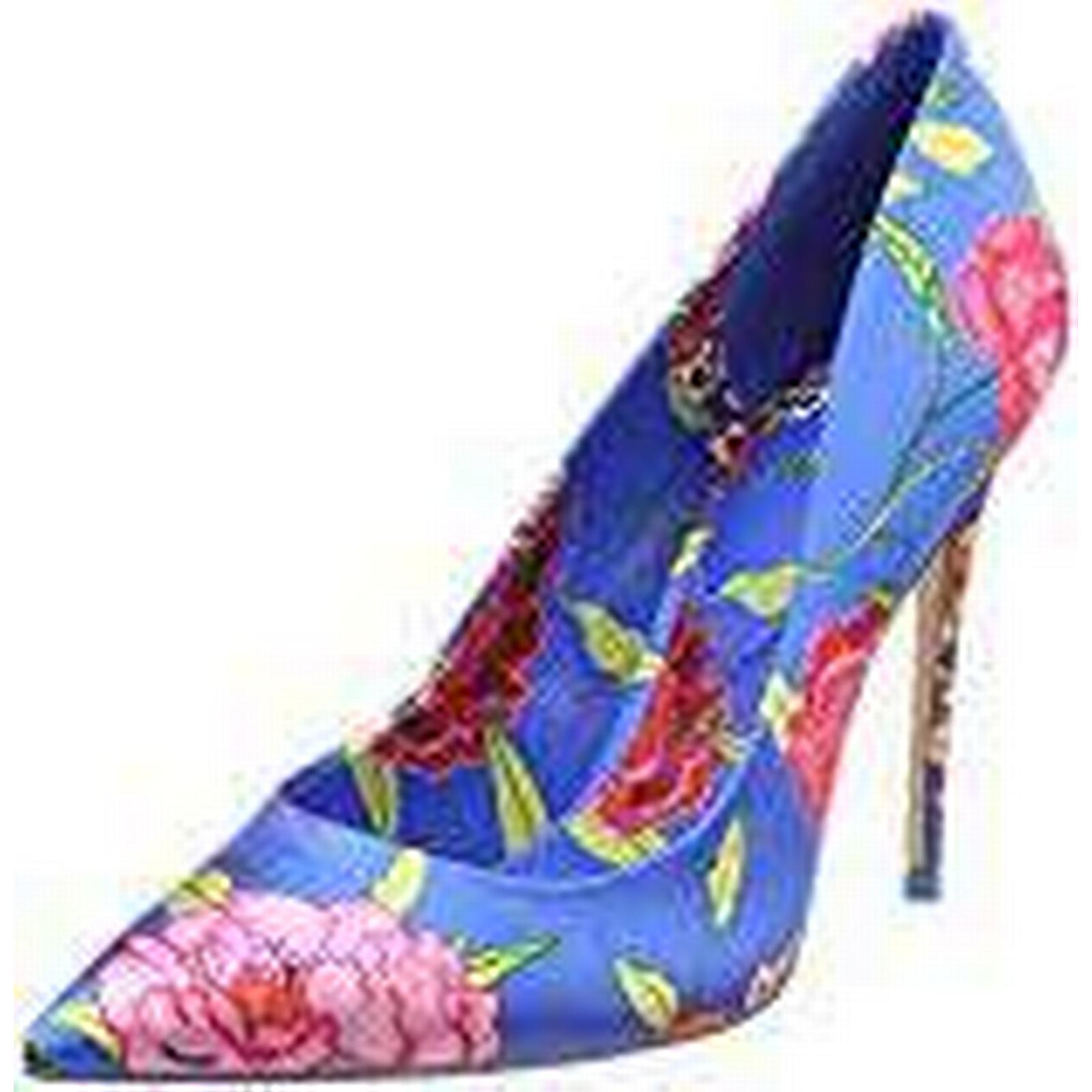 Aldo Women's STESSYF (Brilliant Closed Toe Heels, Multicolour (Brilliant STESSYF Blue Bold Floral Print 8), 5 UK 5 UK 7a32dc