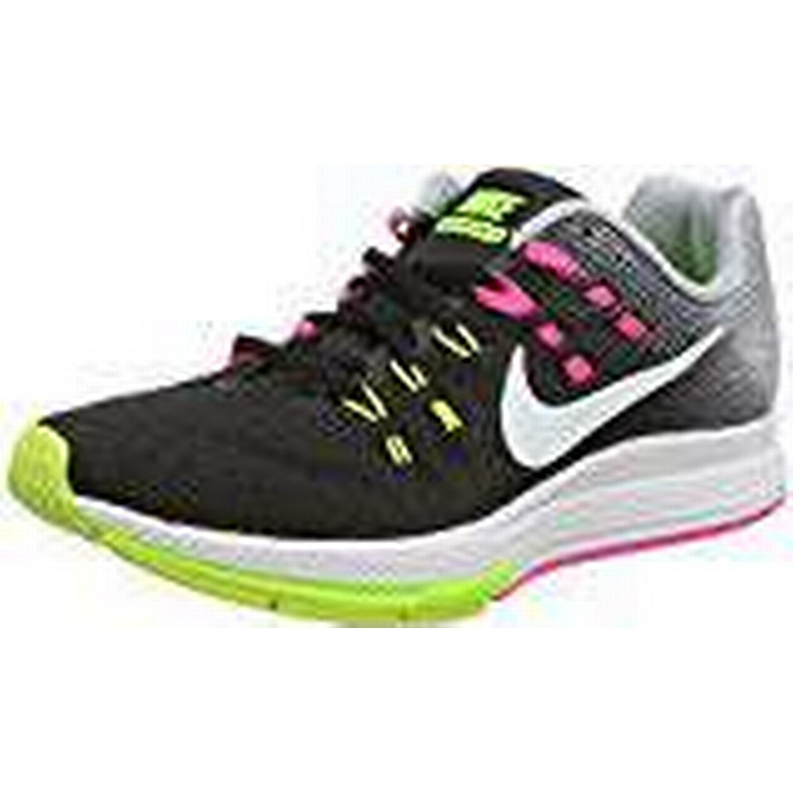 NIKE Women's Air Zoom Structure 19 Running Shoes, Black (Black/White/Pink UK Blast/Dark Purple Dust), 4 UK (Black/White/Pink 37 1/2 EU afdae6