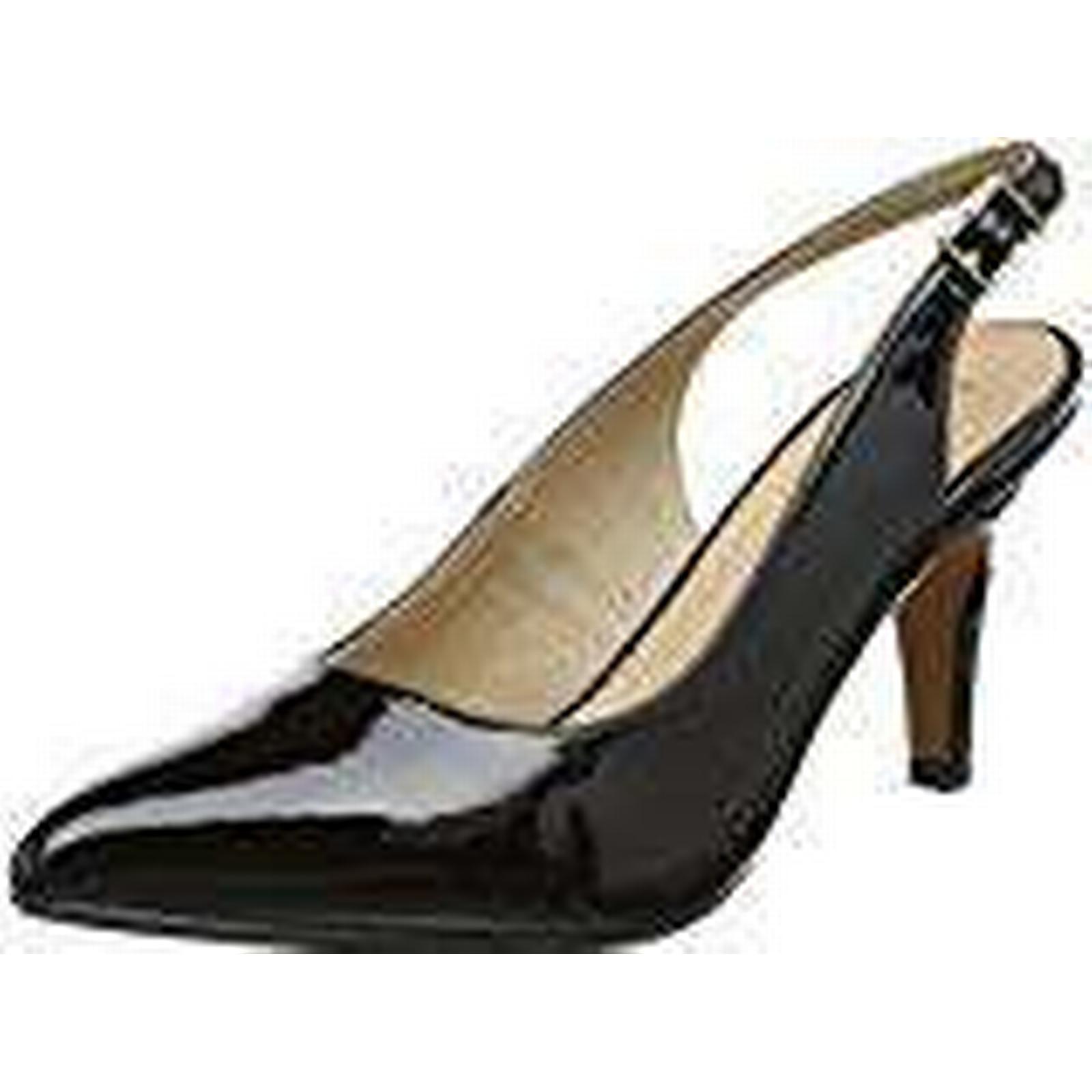 Lotus Women''s Nadia Sling Back UK Heels, (Black Patent), 5 UK Back 38 EU f7915c