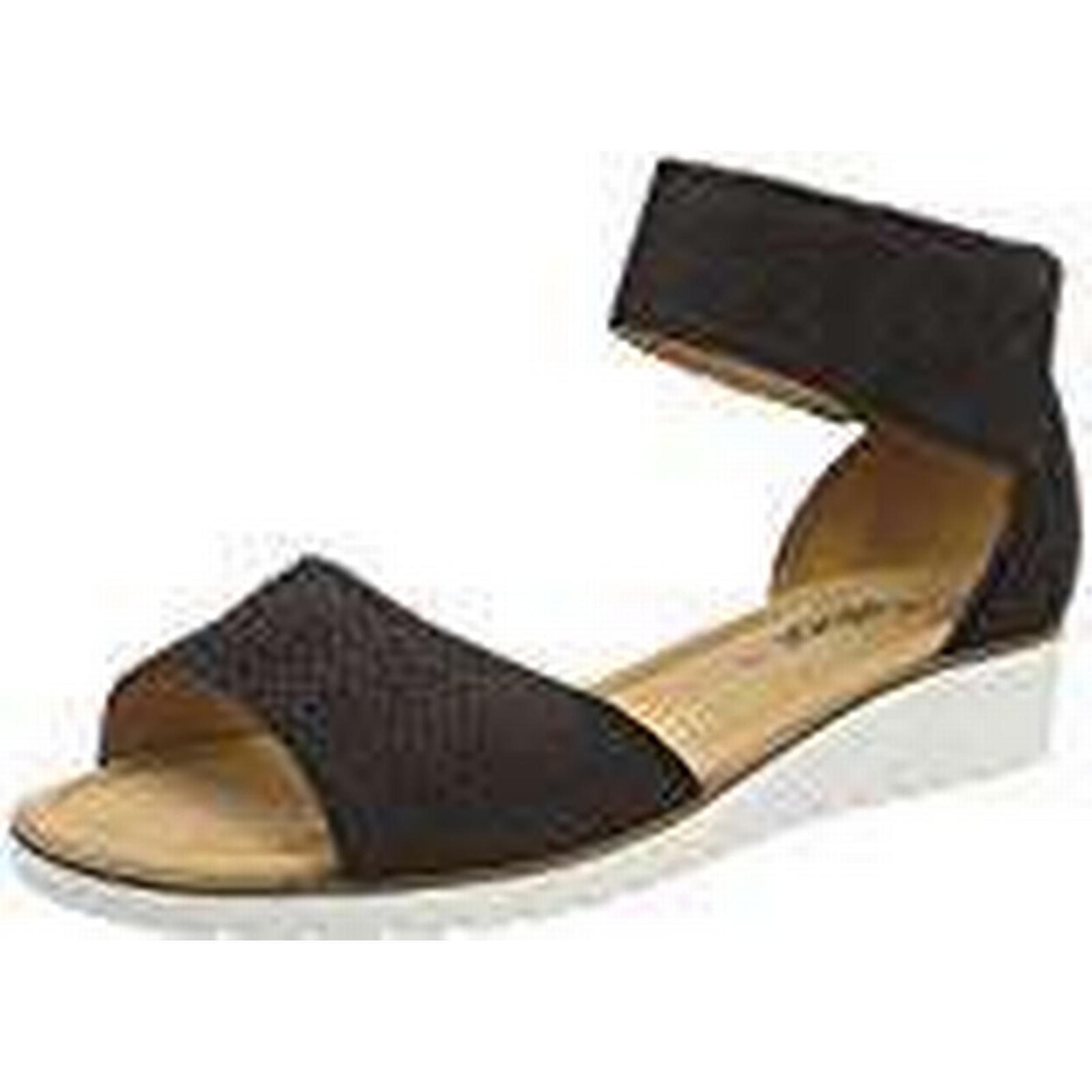 Gabor Shoes Women''s Casual 7 Ankle Strap Sandals, Black (Schwarz), 7 Casual UK b04732
