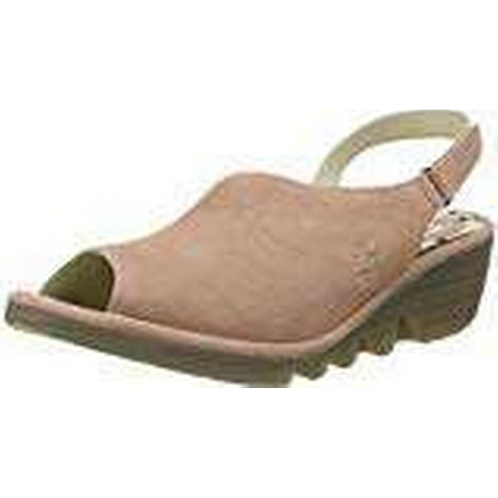Fly London Women's Palp814Fly Sling 8 Back Sandals, Pink (Rose), 8 Sling UK 41 EU 978db3