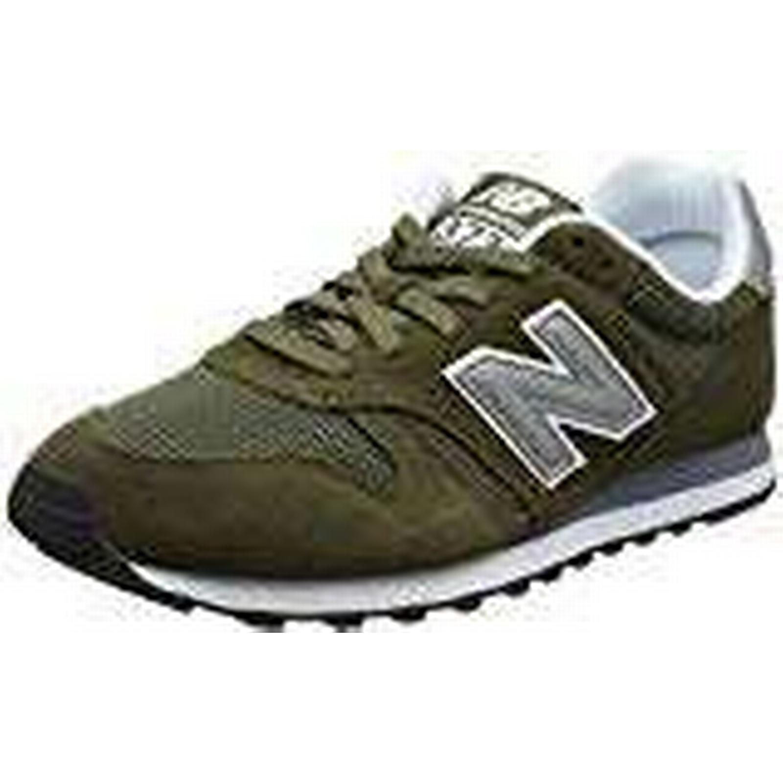 New Balance Men's UK Ml373V1 Trainers, Green (Olive/Silver Olv), 8 UK Men's 42 EU 626115