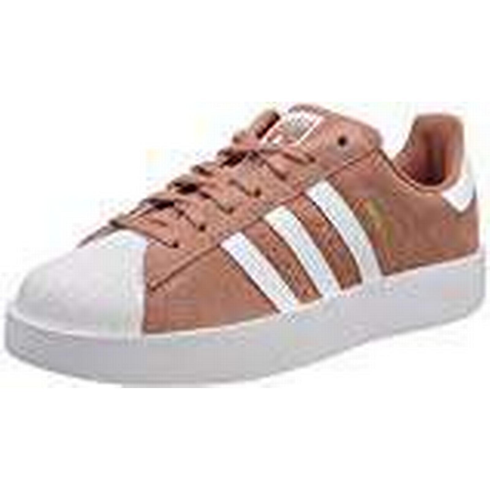 Adidas Women''s Superstar Bold Trainers, (Ash Pink/Footwear White/Gold Metallic 0), EU 7.5 UK 41 1/3 EU 0), d17103