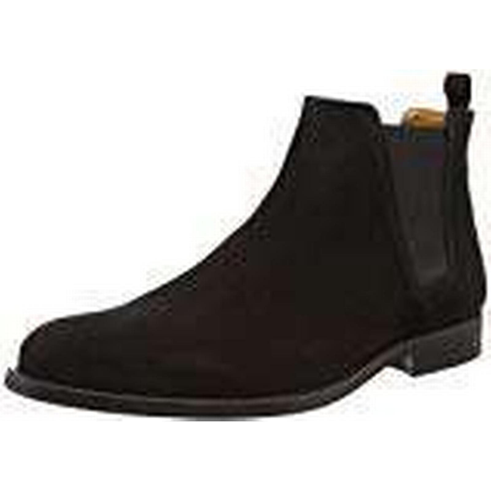 Aldo Men''s Vianello-R Chelsea UK Boots, (Black Suede), 12 UK Chelsea 46 EU ec9986