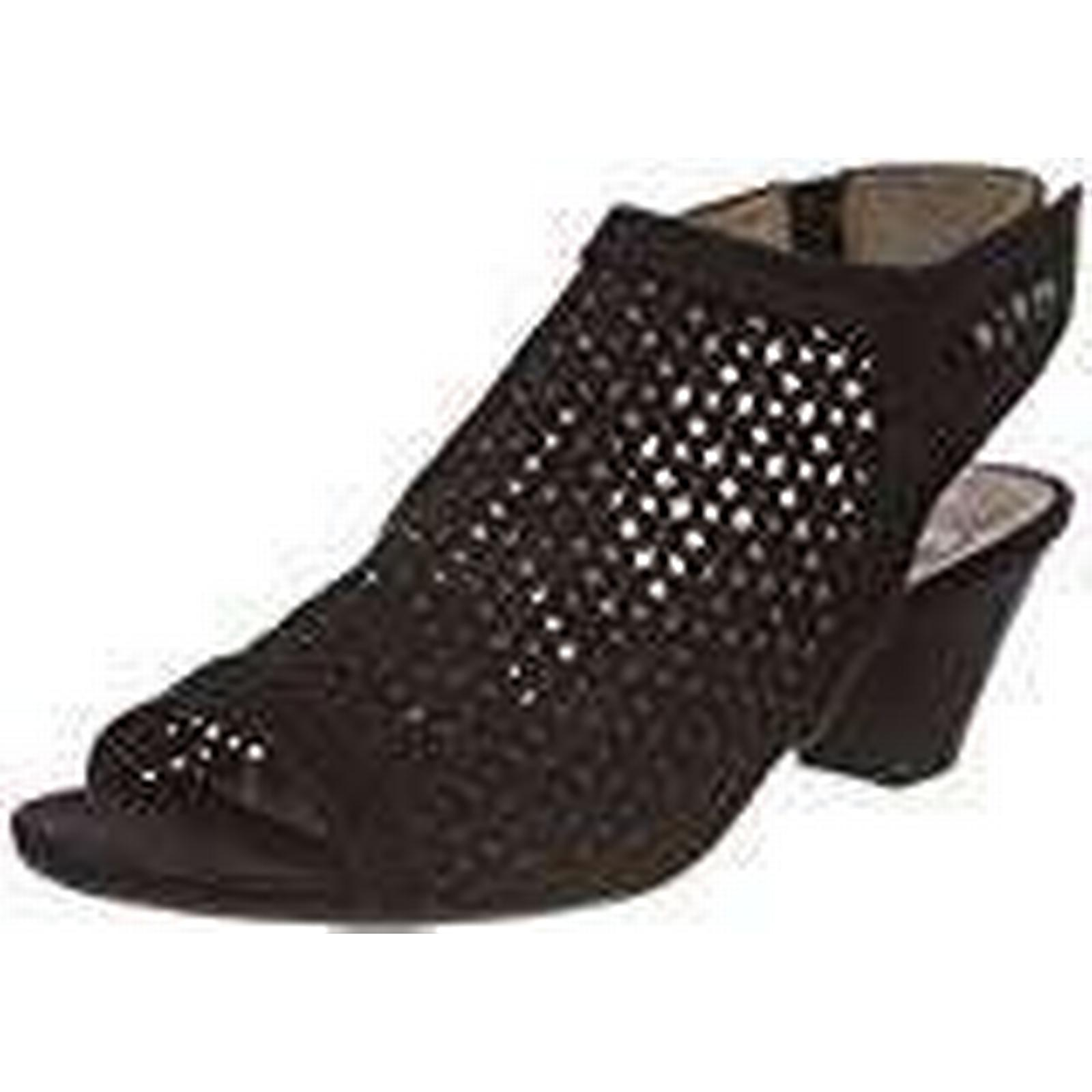 Jana Women''s 28306 Sling Back UK Sandals, Black, 4 UK Back 7685d2