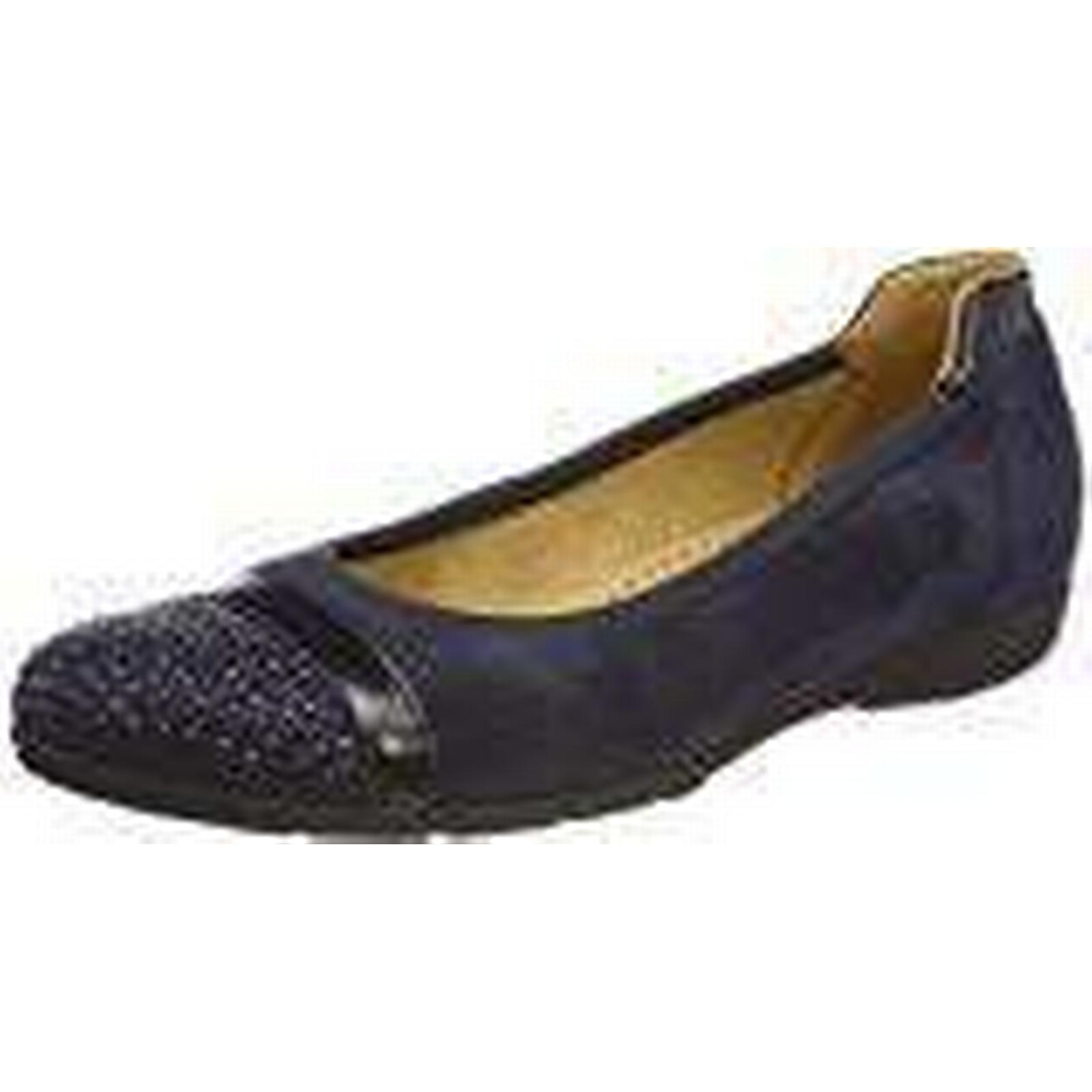 Gabor Women's Casual Closed Toe Ballet Flats, (40.5 Blue (Ocean/Nightblue), 7 UK (40.5 Flats, EU) 6ee23c