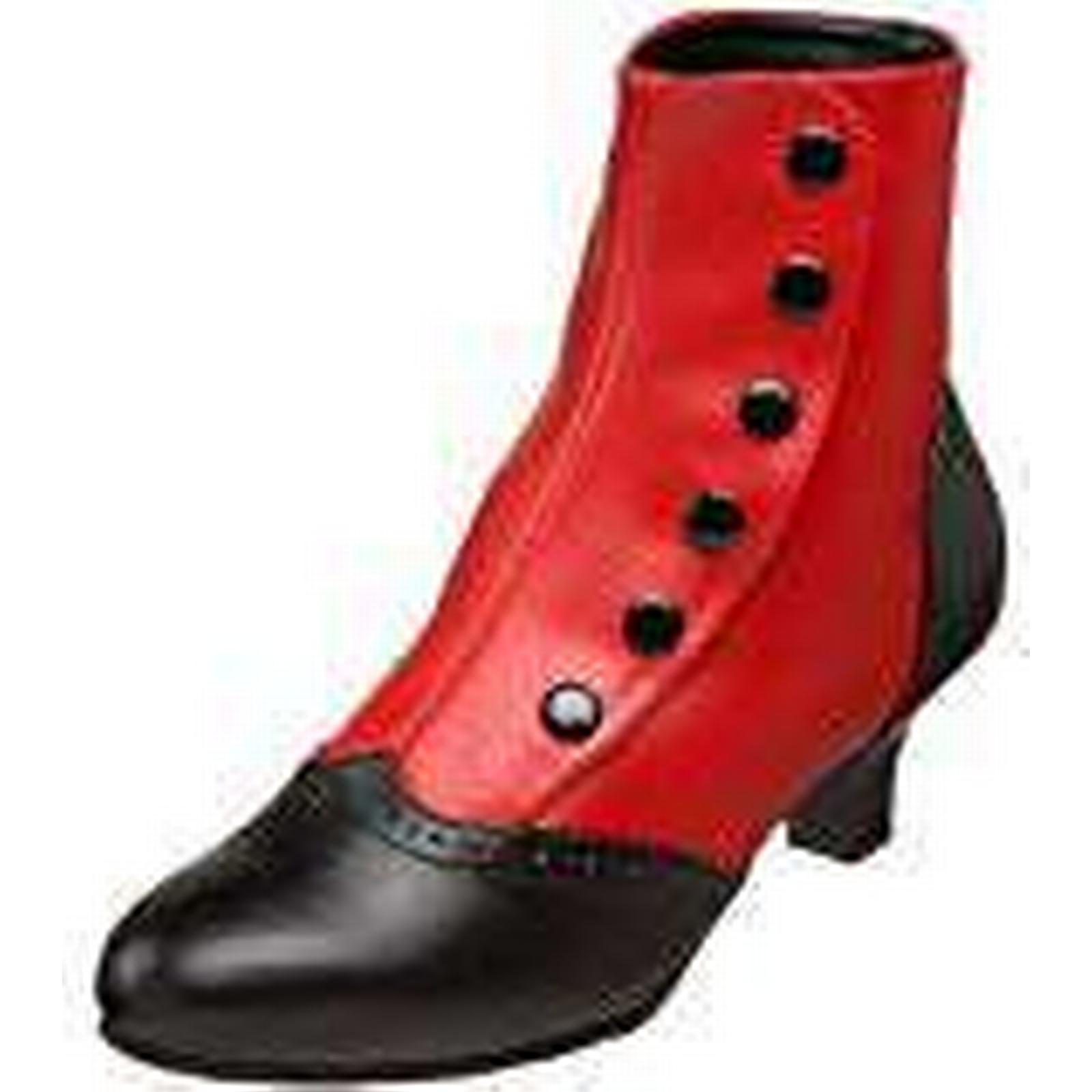 Bordello Pu), Women''s Flora-1023 Boots, (Red-Blk Pu), Bordello 6 39 EU 01acd5