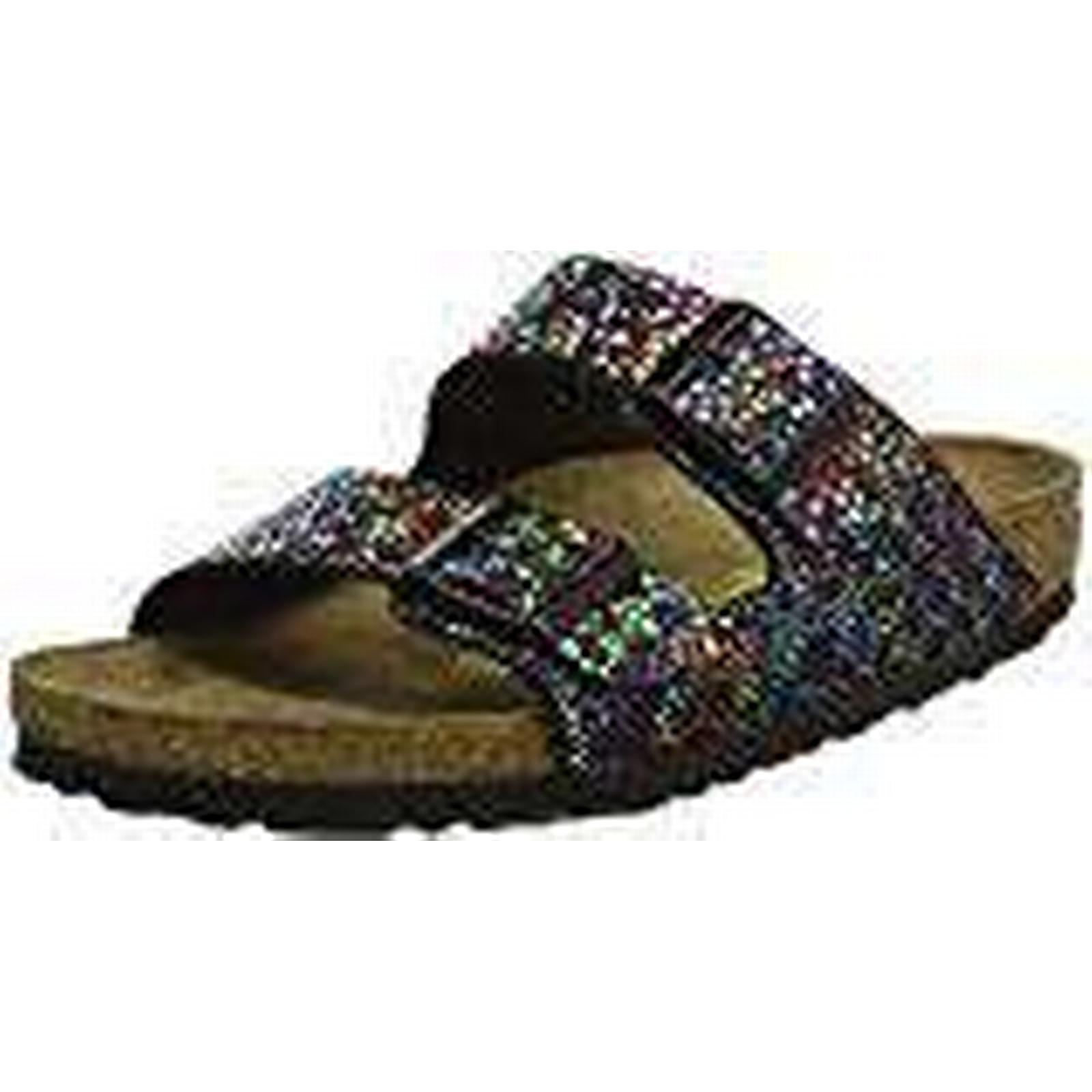 Birkenstock Arizona, Women's Heels Sandals Open Toe Sandals, Multicolour (Multicolore UK Oriental Mosaic Black), 7 UK (Multicolore (40 EU) e20936