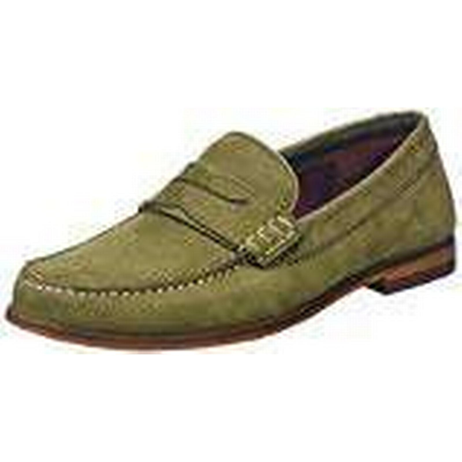Ted Baker 10 Men's Miicke 5 Loafers, Green (Dark Green), 10 Baker UK 44 EU 860929