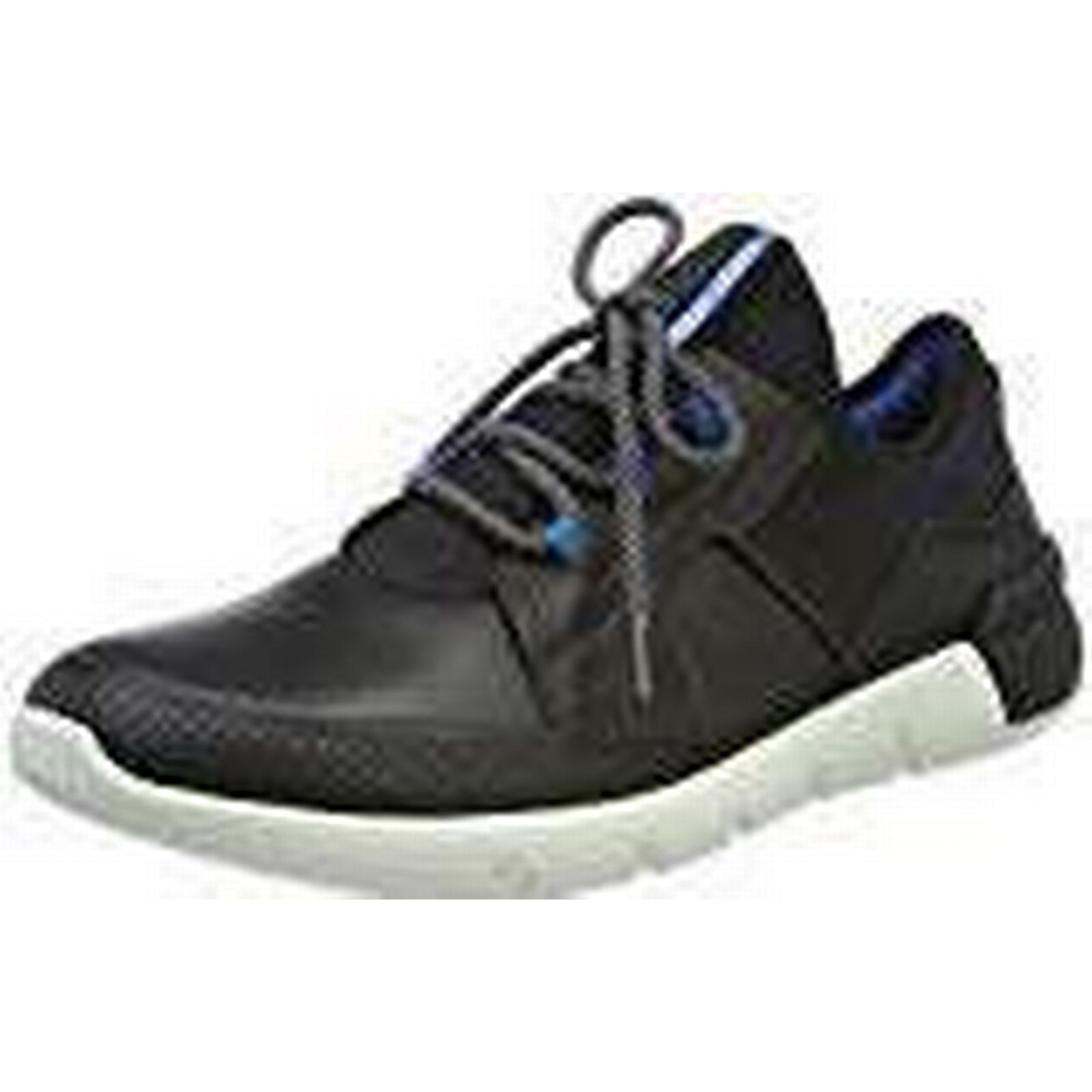 ECCO Men's Cross X Trainers, UK Black (Black/Black 51052), 7.5 UK Trainers, 26b775