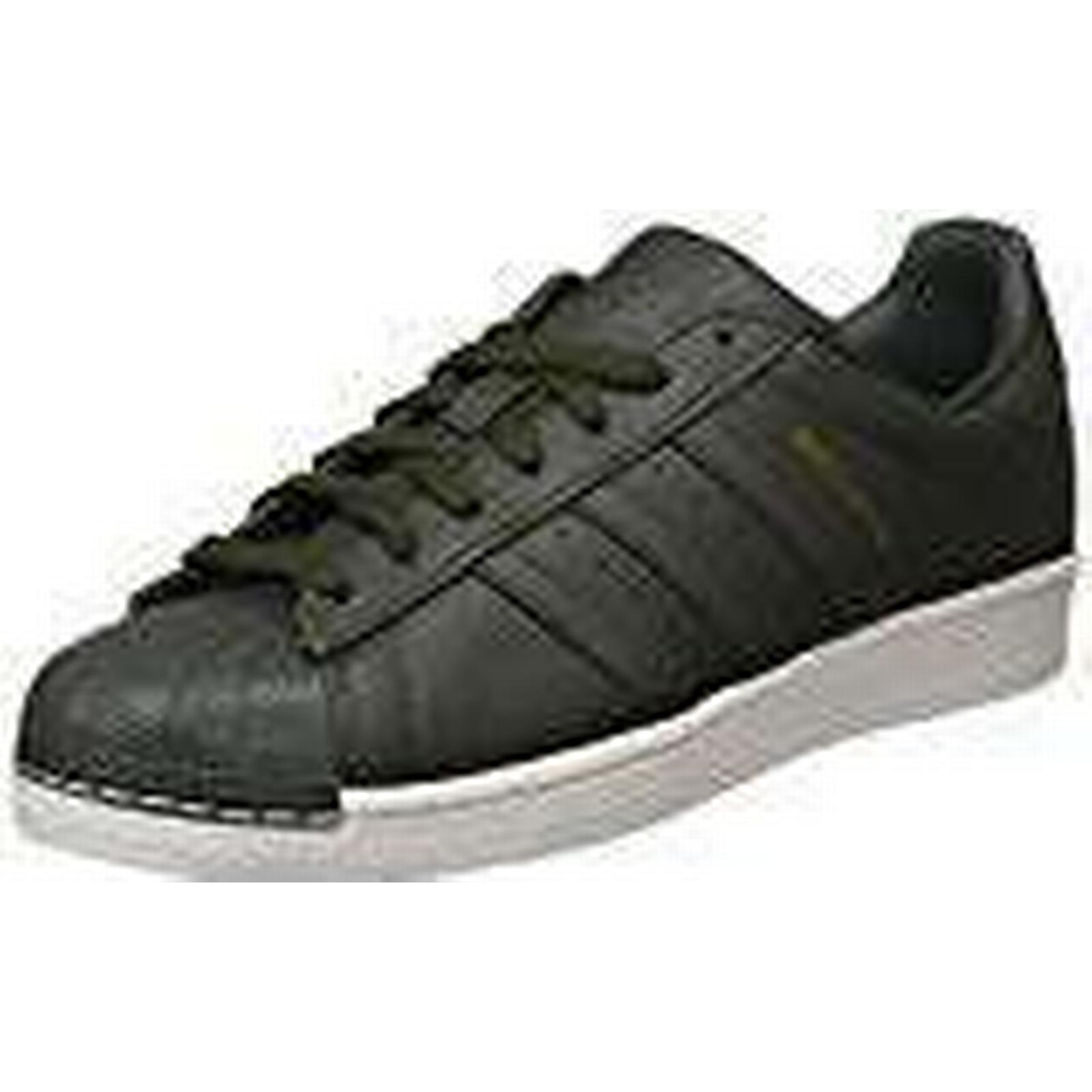 Adidas Men's Superstar Trainers, 9.5 Blue (Night Cargo/Red-Solid/Core Black), 9.5 Trainers, UK 44 EU 71f389