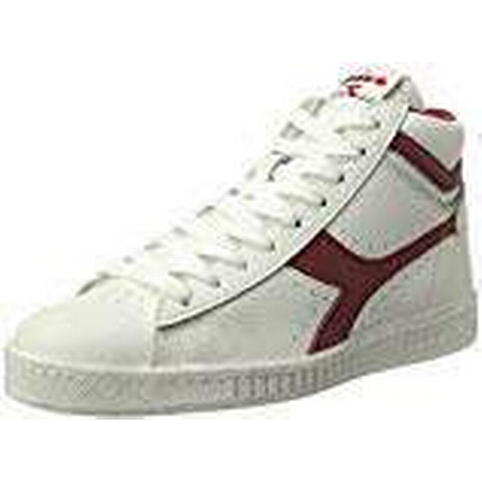 Diadora Men's Game L Low Waxed Men's White Tennis Shoes / in Size 46 EU / Shoes 11.5 UK White 0a8e05