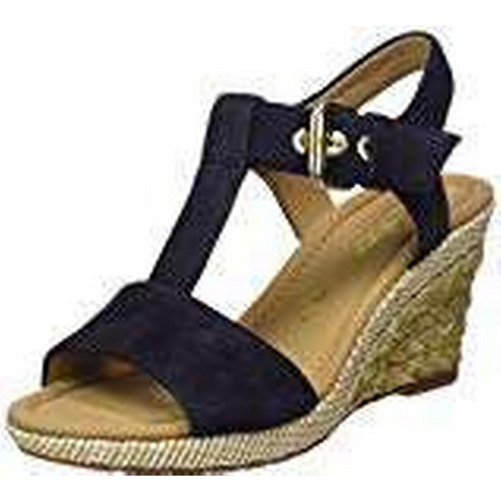 Gabor Shoes Women's Comfort Sport Ankle Strap 6.5 Sandals, Blue (Pazifik Bast), 6.5 Strap UK (40 EU) 7eb369