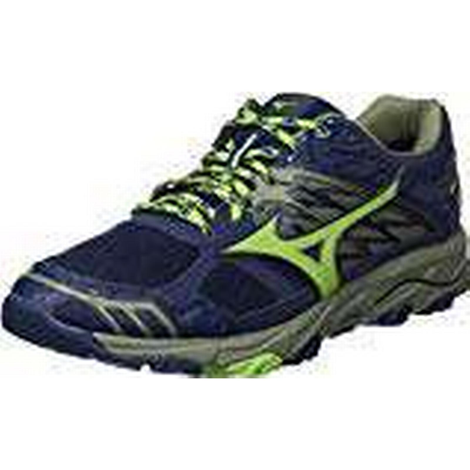 Mizuno Men's Wave Mujin 4 G-Tx Running 10 Shoes, Multicolour (Dressblues/Greenery/Olivine 36), 10 Running UK 9148ec