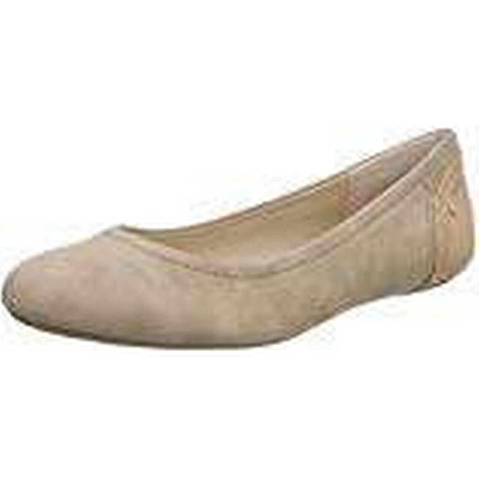 ESPRIT Women's Aloa Ballerina Closed Toe Pink Ballet Flats, (Dark Old Pink Toe 675), 3.5 UK 3.5 UK 84428b