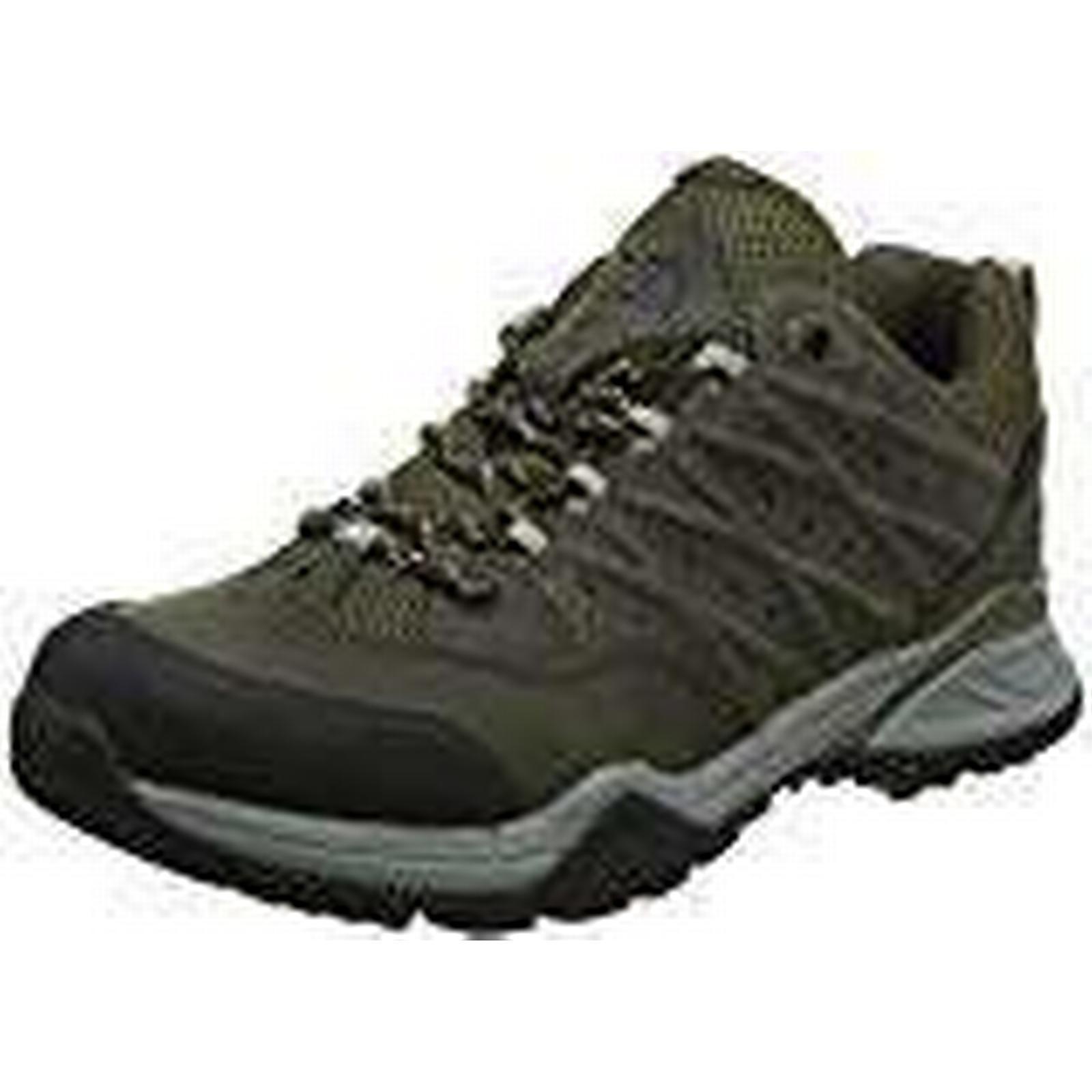THE NORTH FACE Men's Hedgehog II Boots, GTX Low Rise Hiking Boots, II (Tarmac Burnt Olive Green 4dd), 10 (44.5 EU) 5ac137