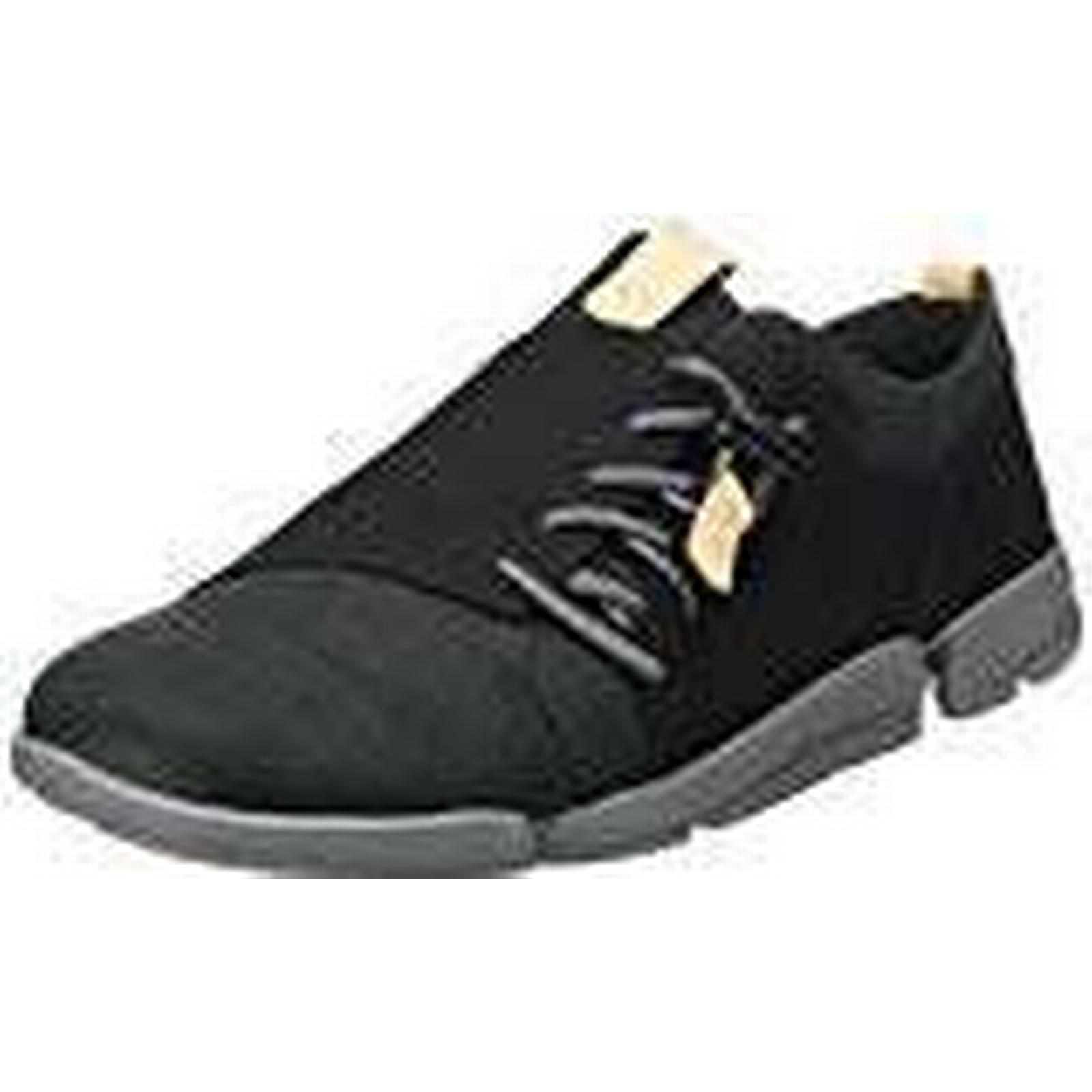Clarks Women''s Tri Camilla Low-Top UK Sneakers, (Black Nubuck), 4.5 UK Low-Top d8ded7