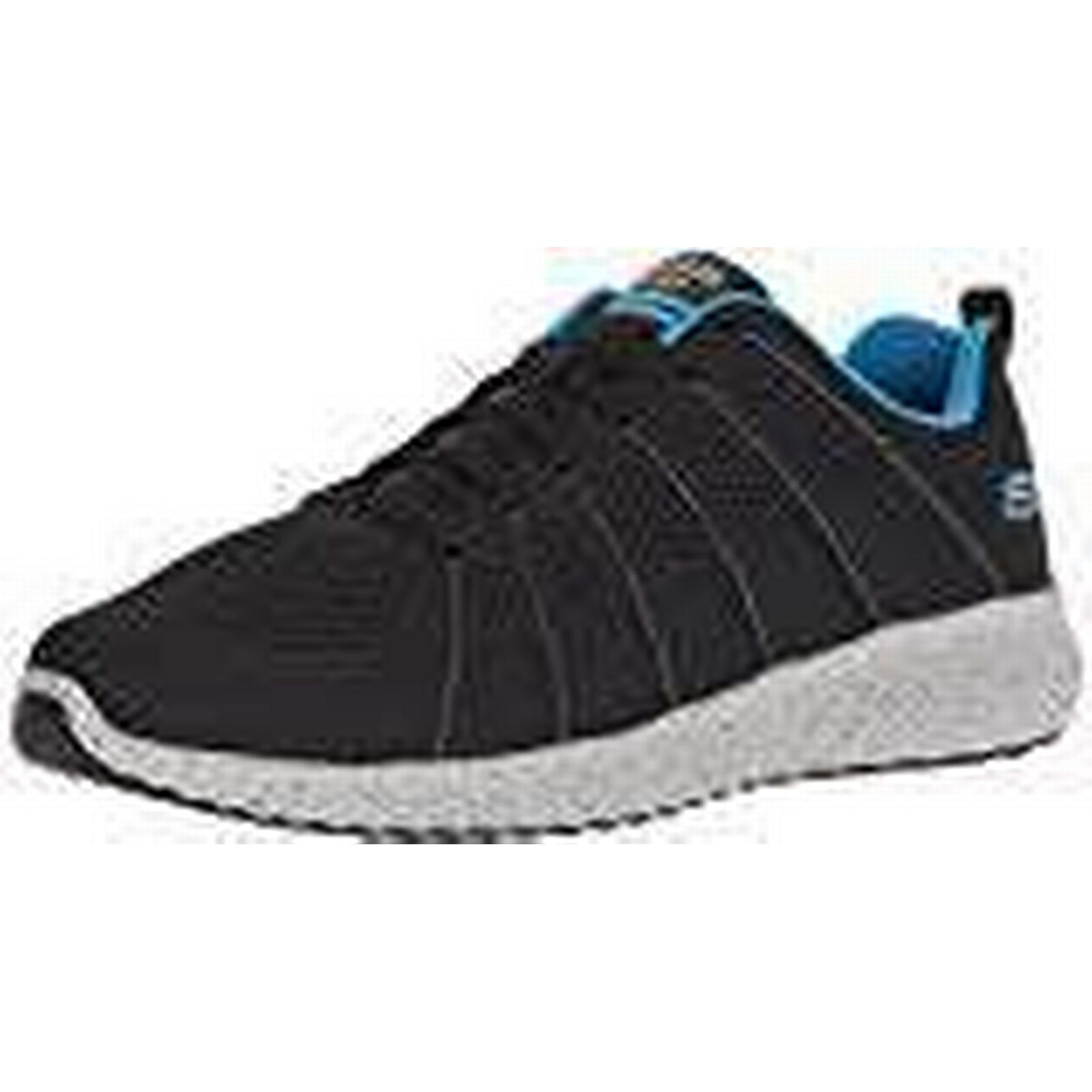 Skechers Men's 52674 UK Trainers, (Black/Blue), 13 UK 52674 48.5 EU a5b9ca